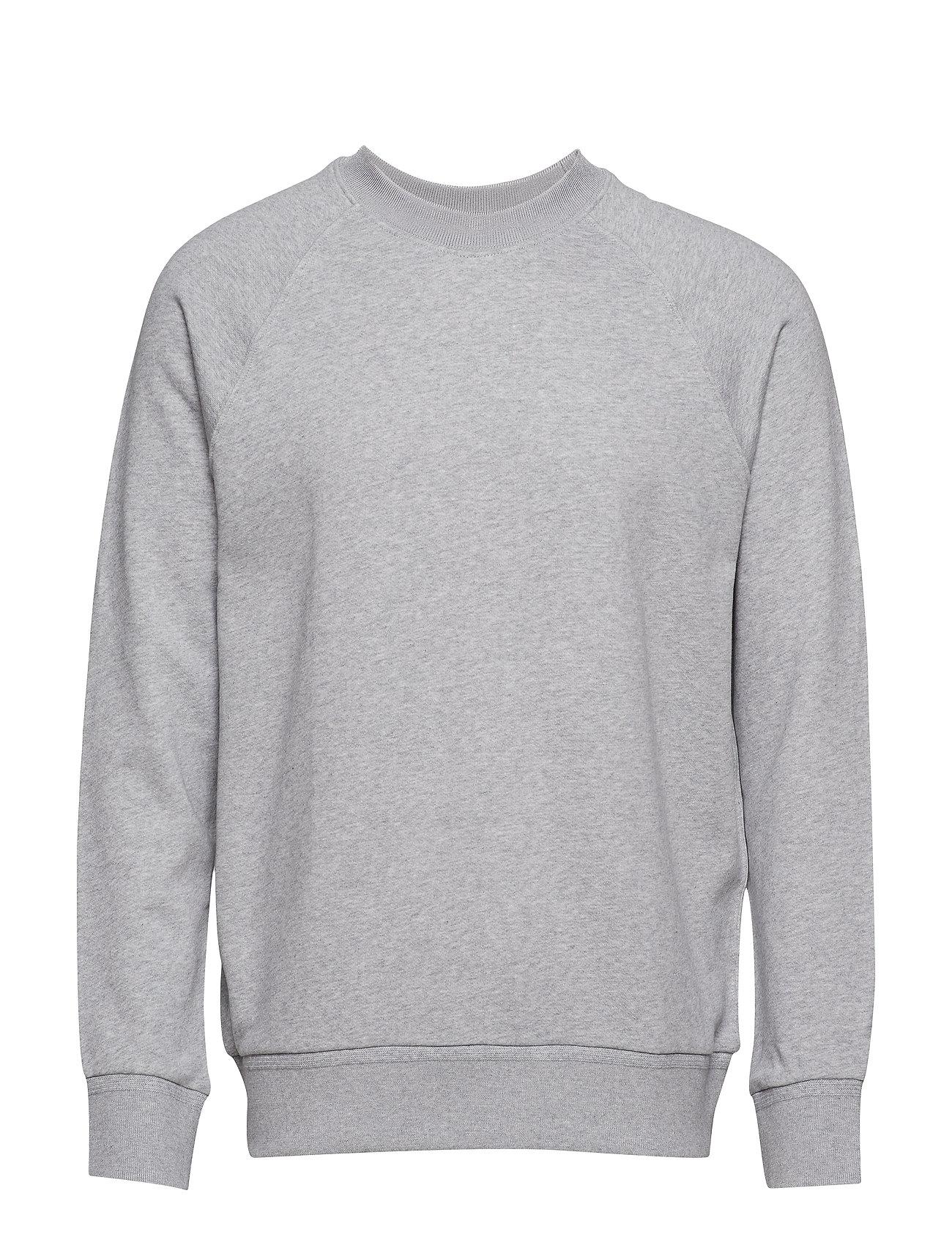 Filippa K M. Tuxedo Sweatshirt - LIGHT GREY