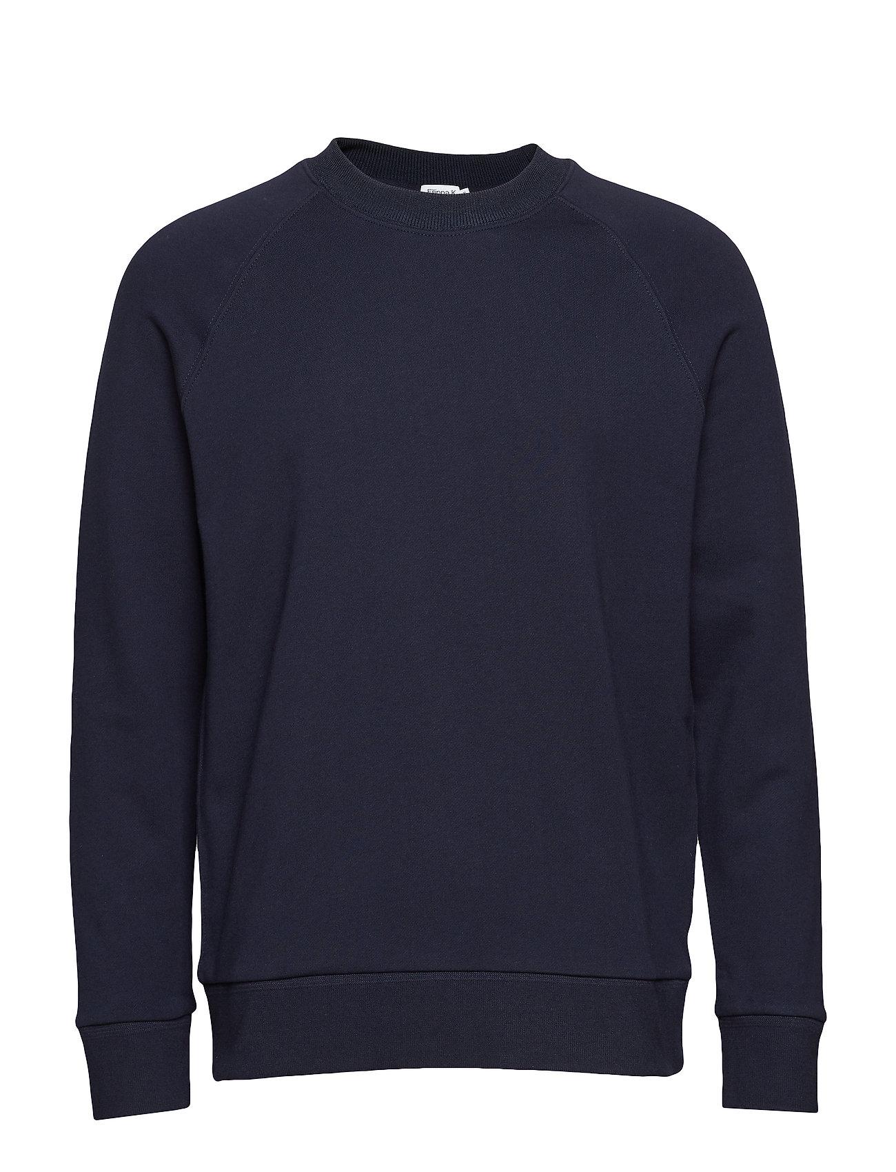 Filippa K M. Tuxedo Sweatshirt - NAVY