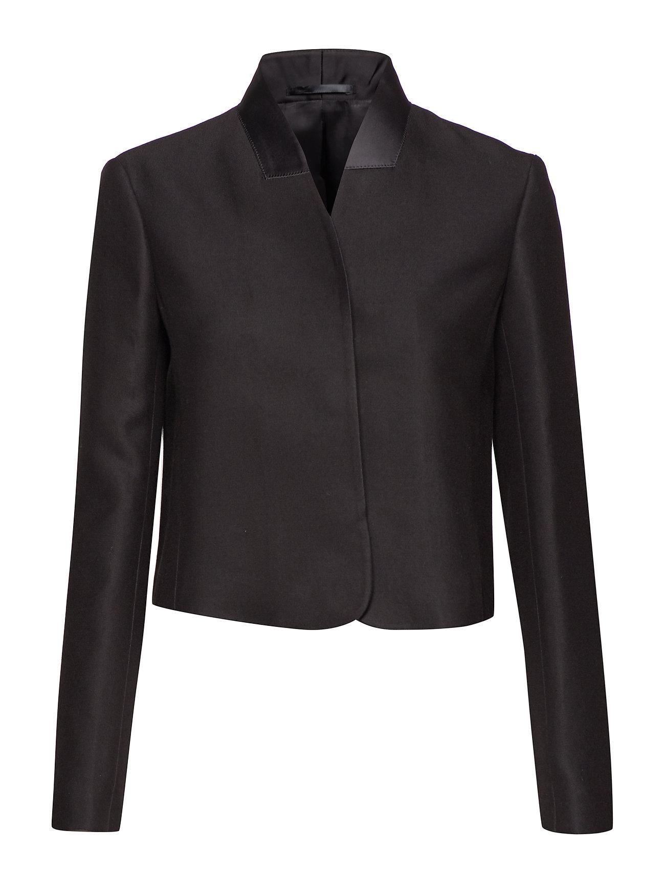 Filippa K Short Blazer Jacket - BLACK