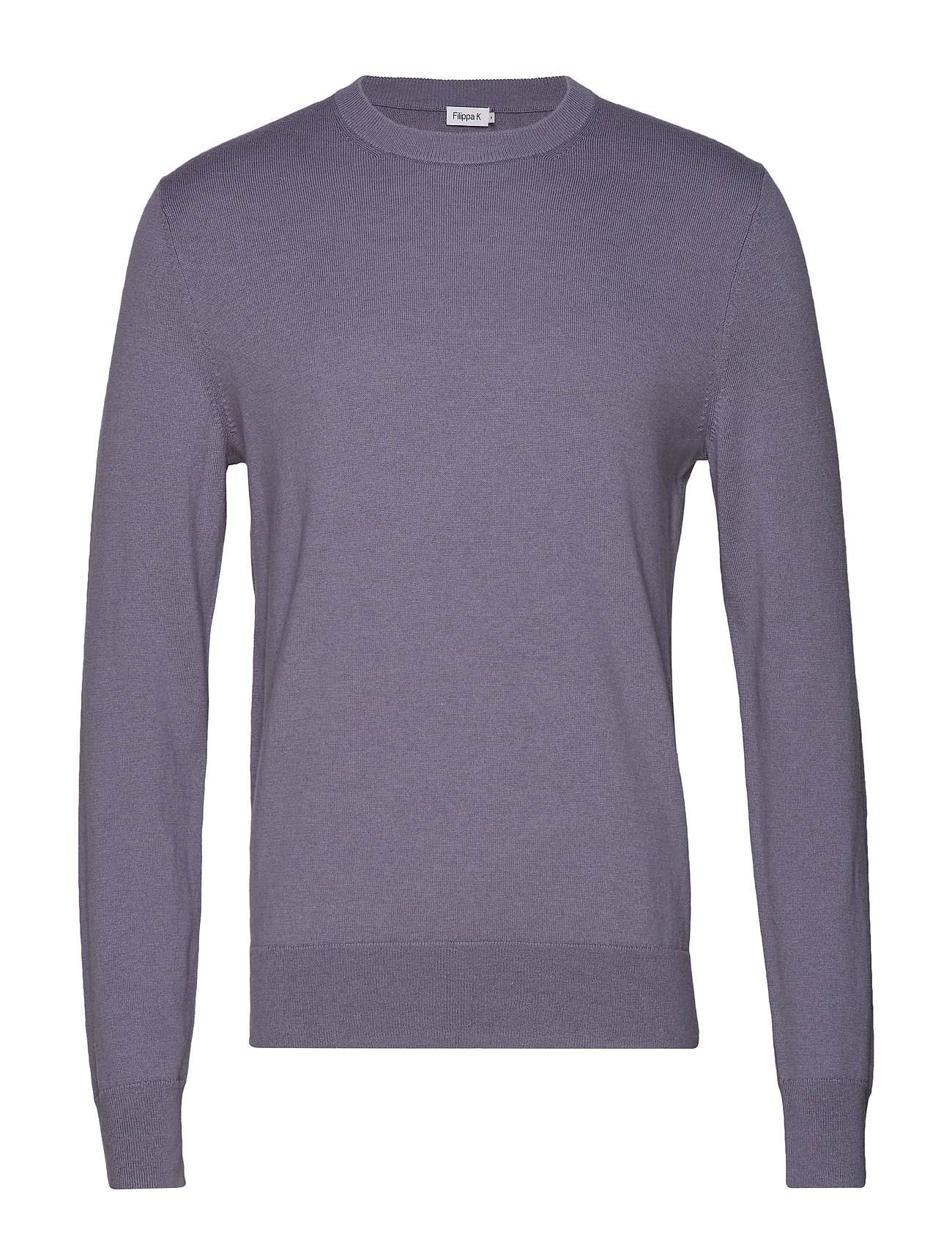 Filippa K M. Cotton Merino Basic Sweater - BLUESTONE