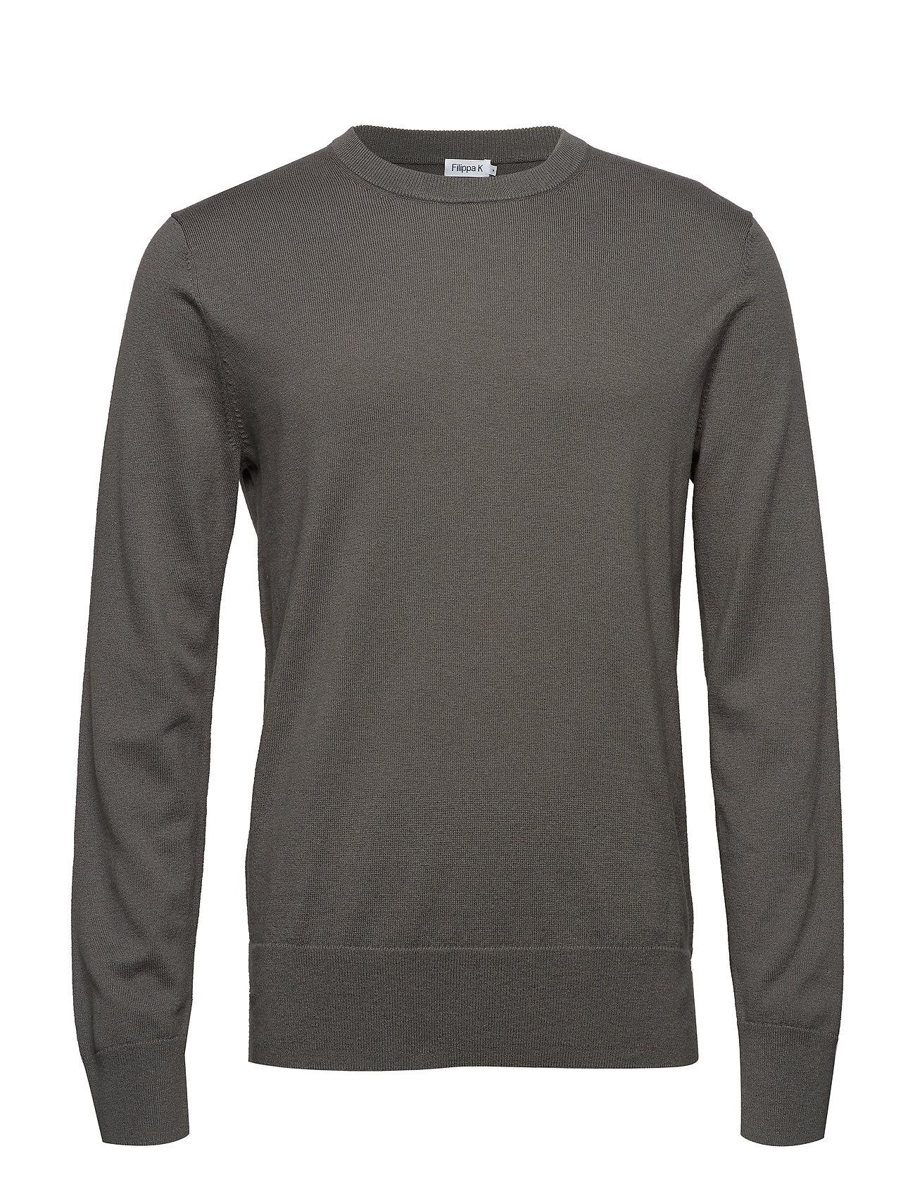 Filippa K M. Cotton Merino Basic Sweater - PLATOONE