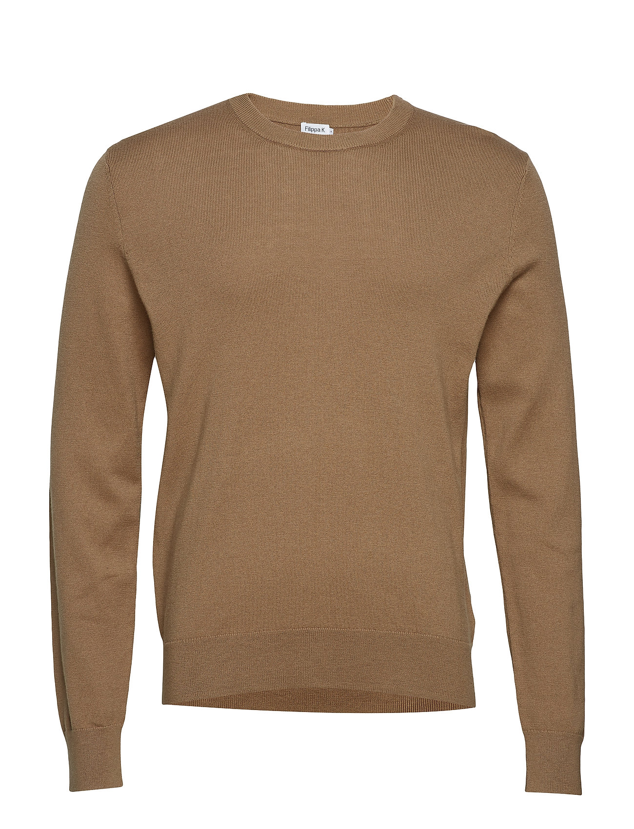 Filippa K M. Cotton Merino Basic Sweater - TOBACCO
