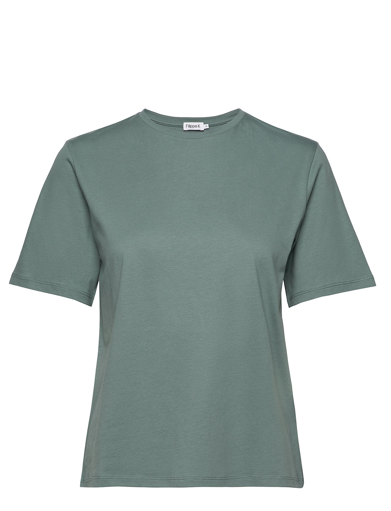 Filippa K Annie Cotton T-shirt - MINT POWDE