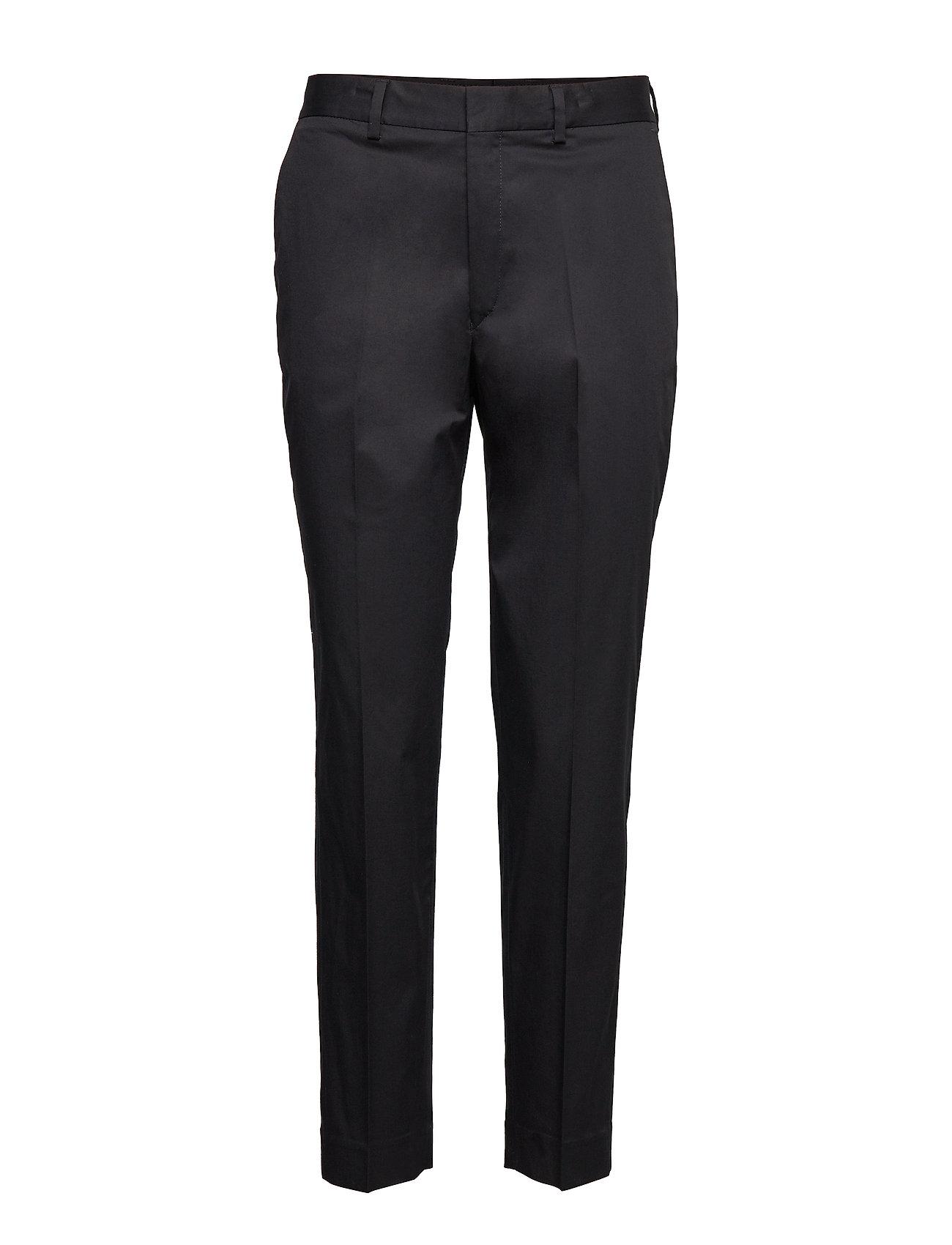 Image of Emma Cotton Trouser Bukser Med Lige Ben Blå Filippa K (3347377607)