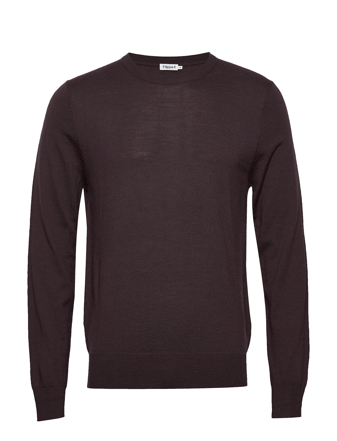 Filippa K M. Merino Sweater - DARK PLUM