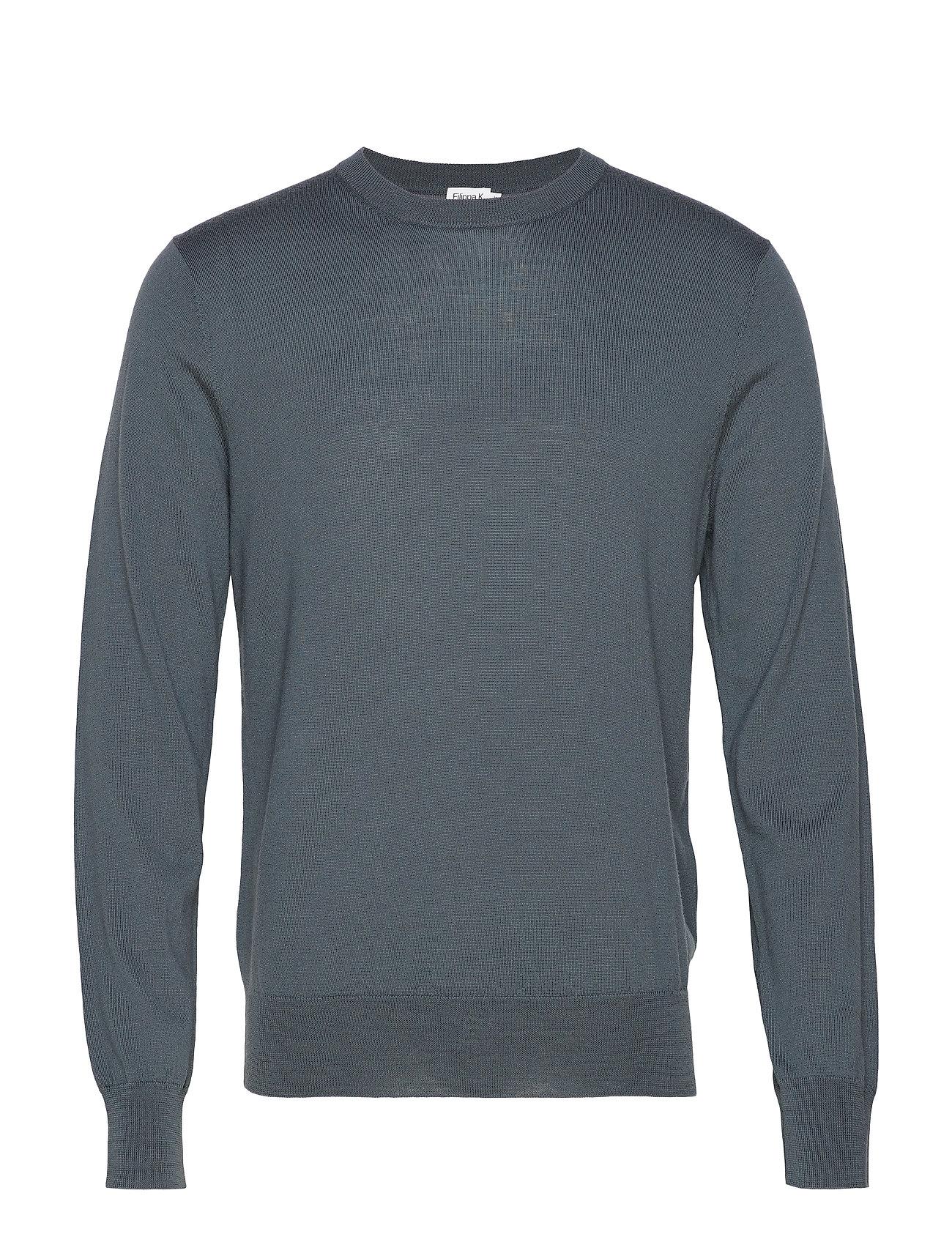 Filippa K M. Merino Sweater - STONE GREE