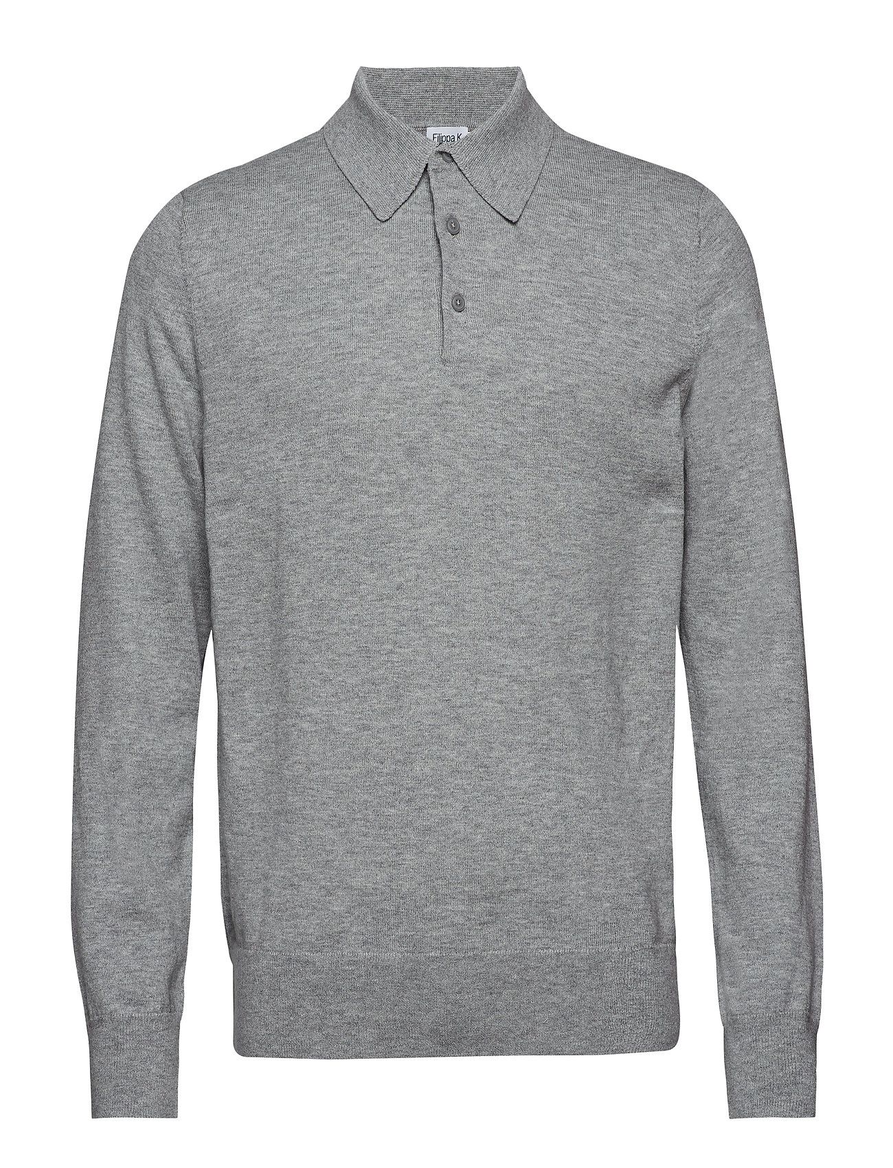 K MKnitted GreyFilippa Polo MKnitted GreyFilippa Shirtlight Shirtlight K MKnitted Polo 8nPk0wO