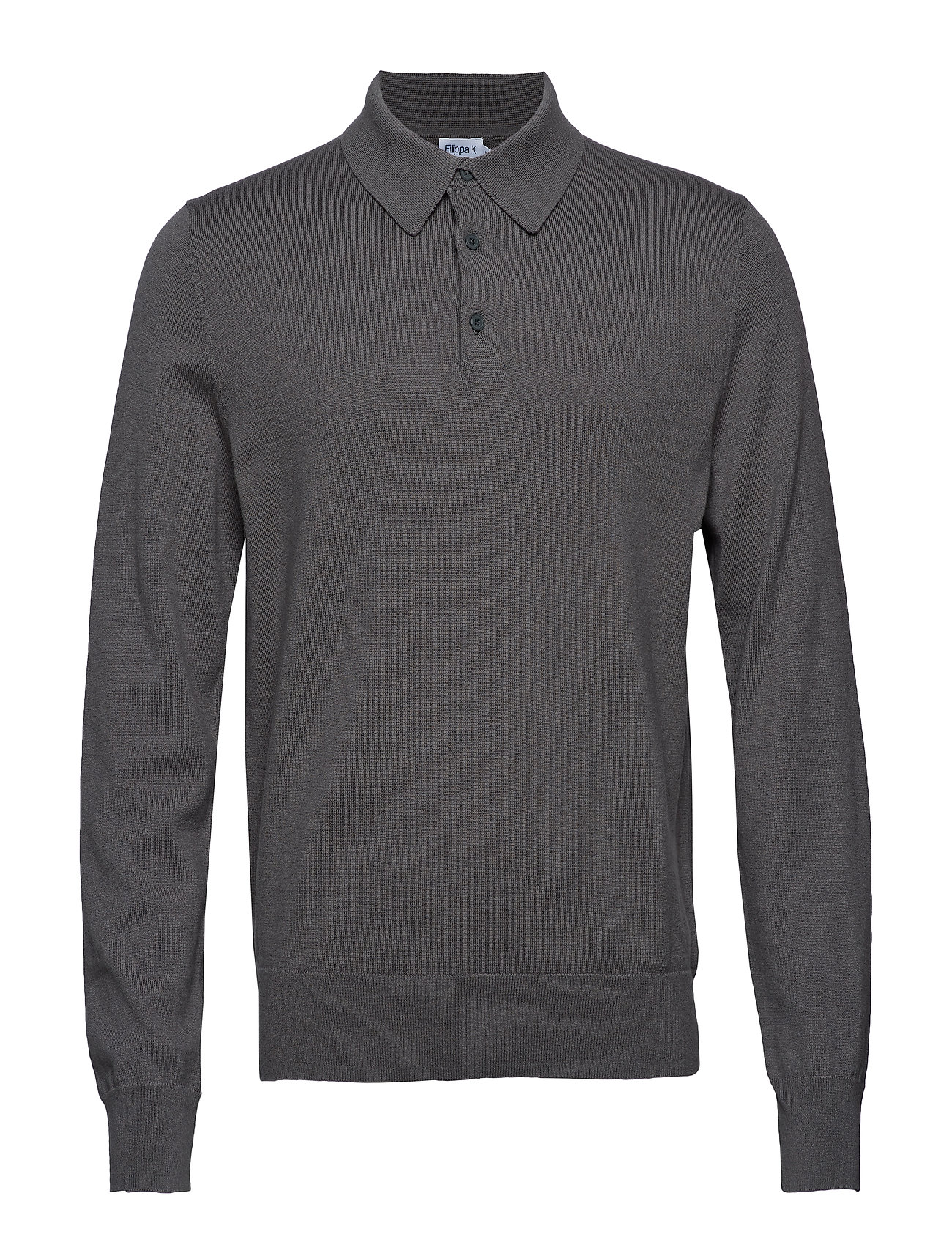 Filippa K M. Knitted Polo Shirt - PLATOONE