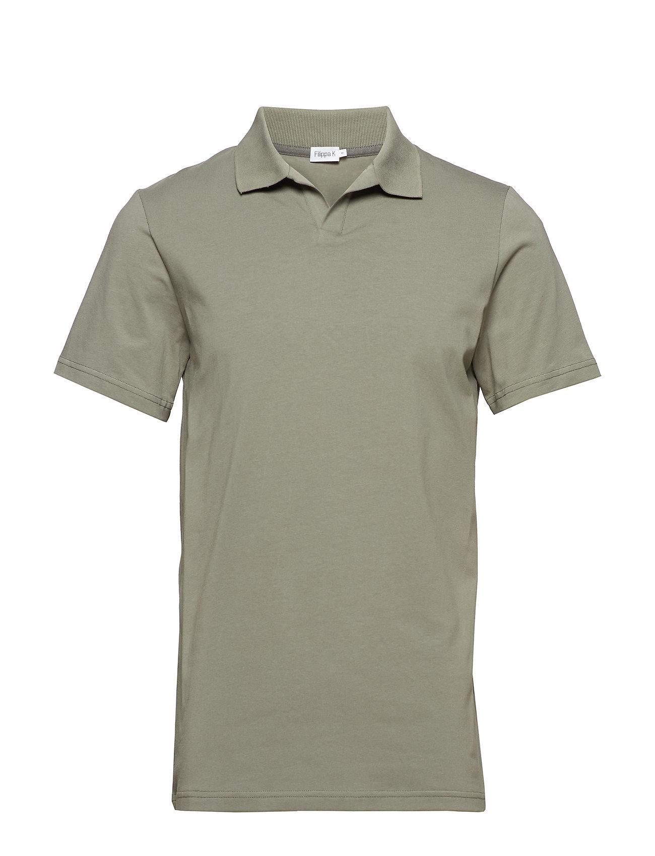 M. Lycra Polo T Shirt Kortærmet Poloshirt FILIPPA K