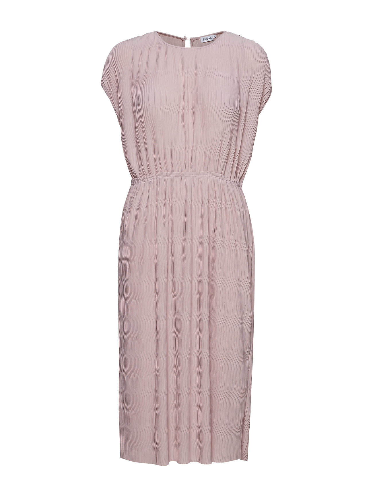 Filippa K Wave Pliss Dress - FROSTY PIN