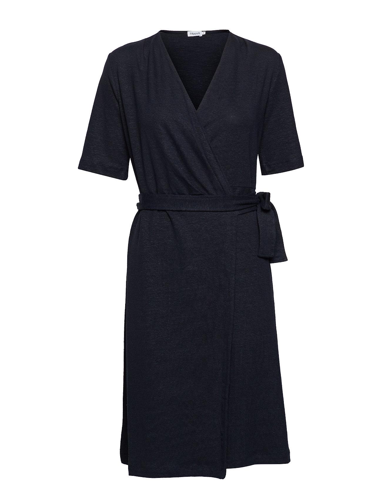Filippa K Linen Wrap Dress