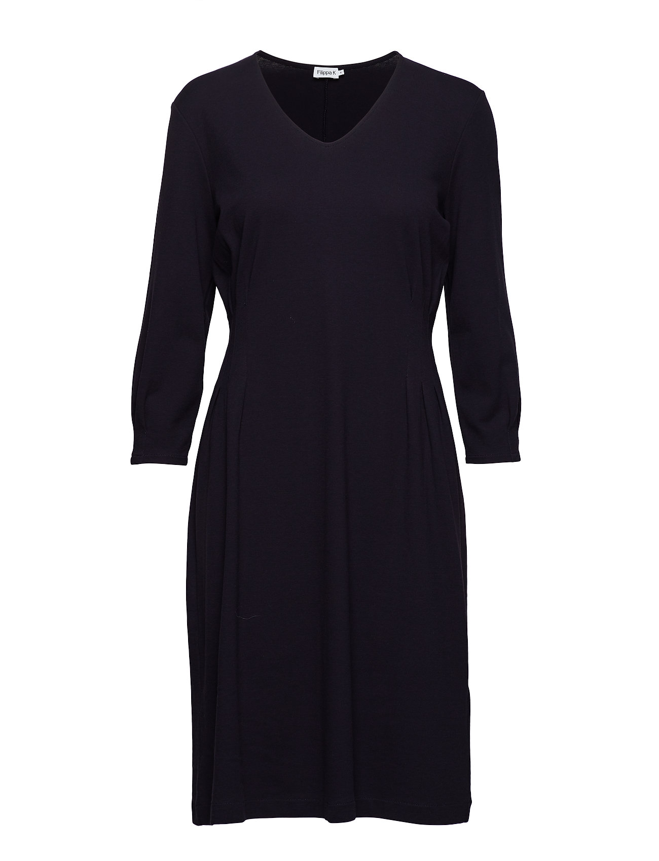 Filippa K Pleat Waist Dress - NAVY