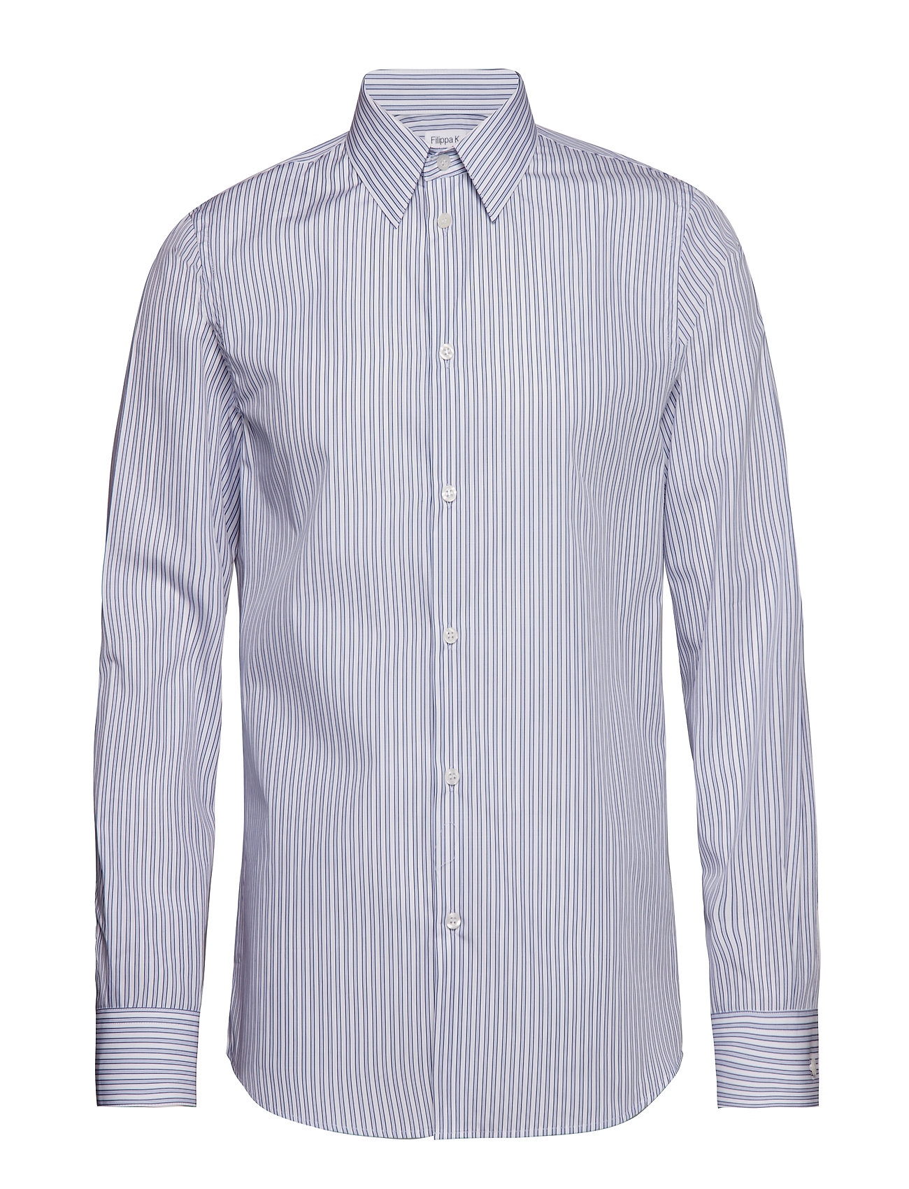 Filippa K M. James Striped Shirt - BOLD BLUE/