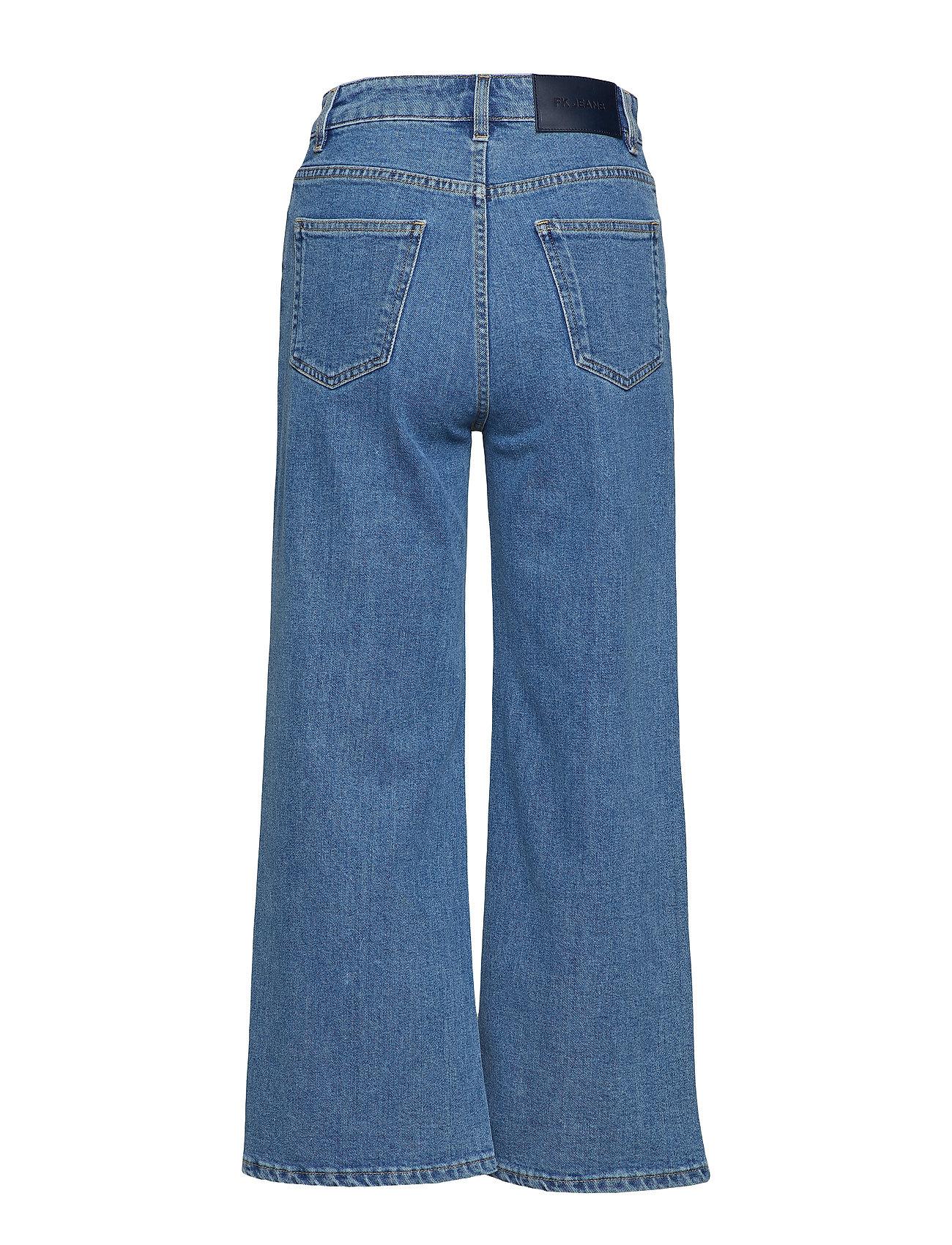 Laurie Washed Jean Vide Jeans Blå FILIPPA K