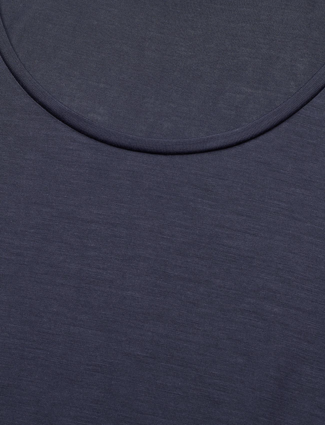 Filippa K - Tencel Scoop-neck Tee - t-shirts - indigo - 2