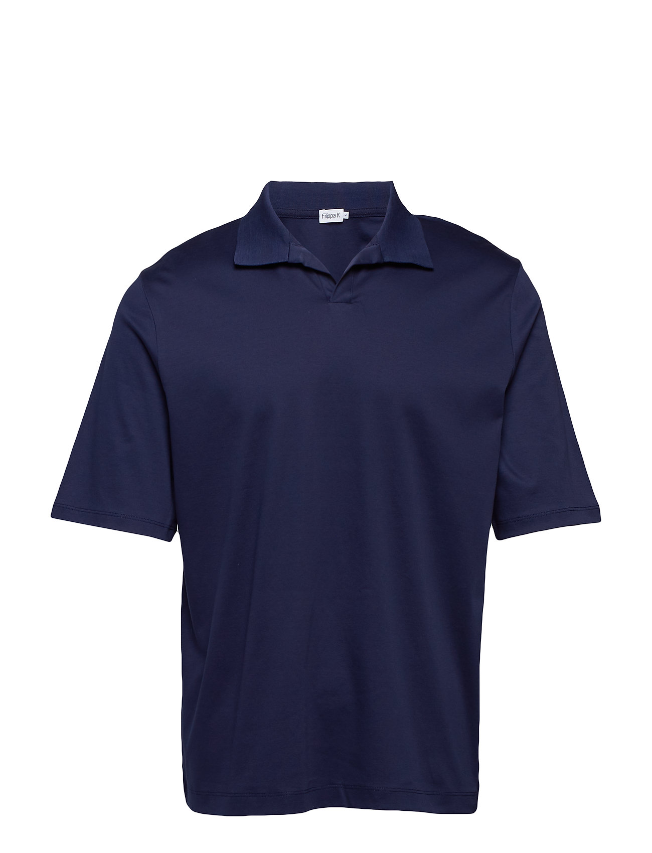 Filippa K M. Mercerised Polo T shirt Ögrönlar