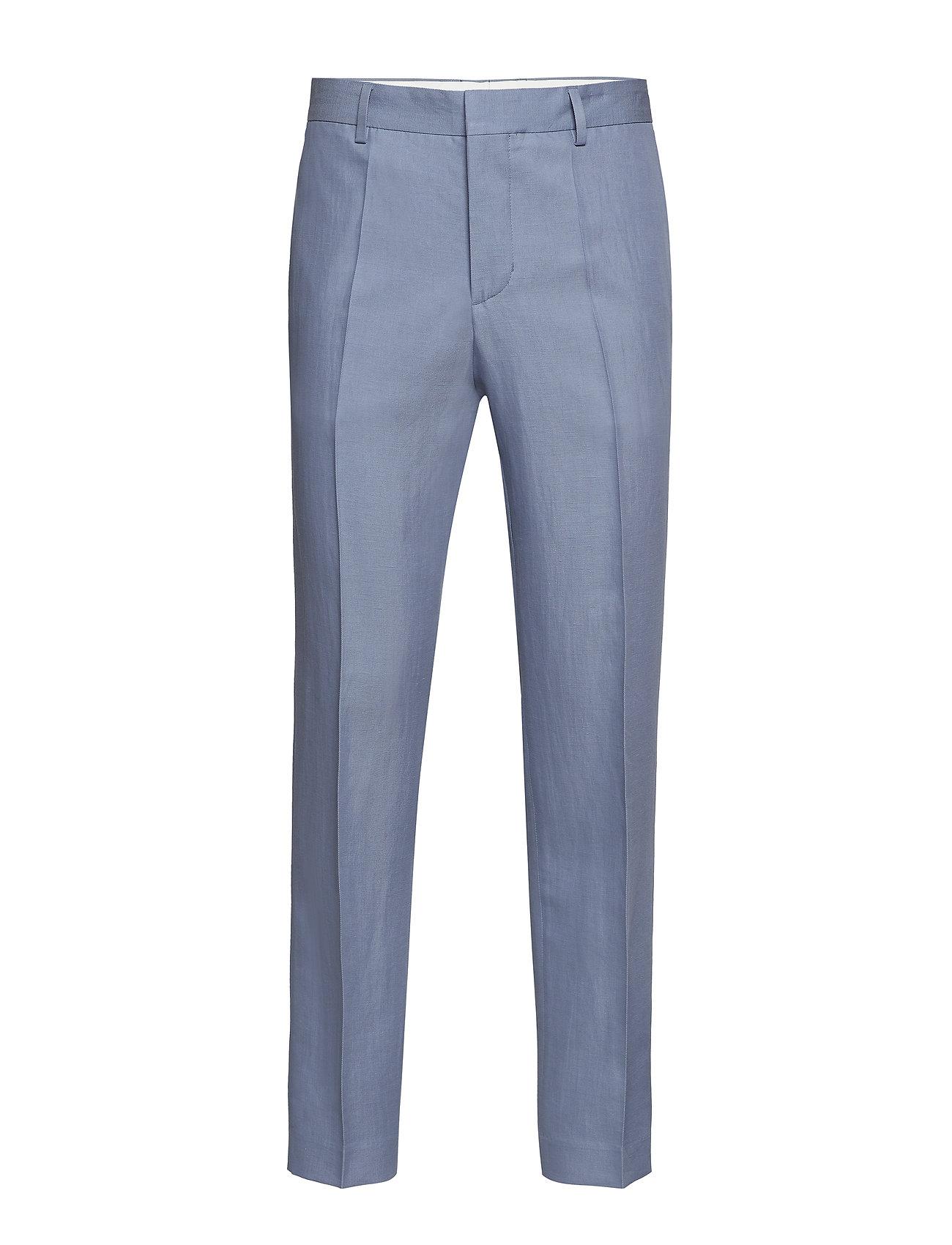Image of M. Justin Drapey Linen Trouser Habitbukser Stylede Bukser Blå Filippa K (3191656111)