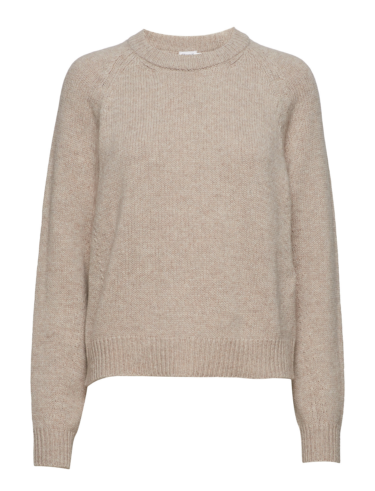 Filippa K Soft R-Neck Sweater - BEIGE MELA