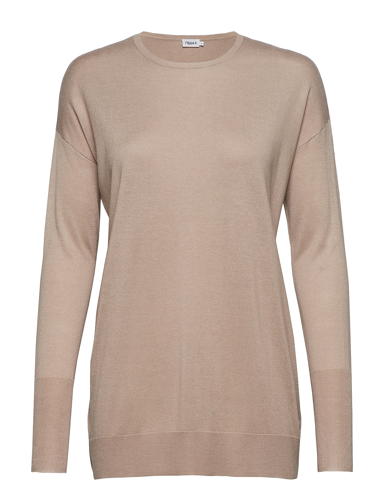Filippa K Silky Fine Knit Sweater - LIGHT TAUP