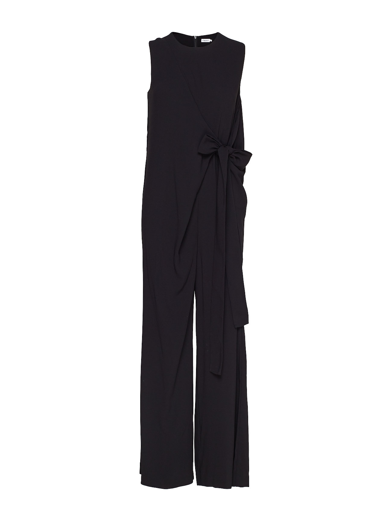 Filippa K Tie Waist Jumpsuit - BLACK