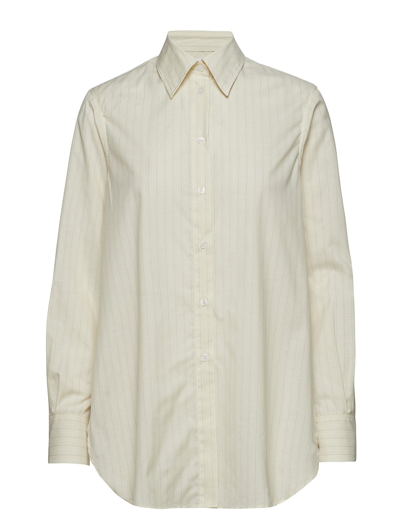 Filippa K Indra Cotton Silk Shirt - OFF WHITE/