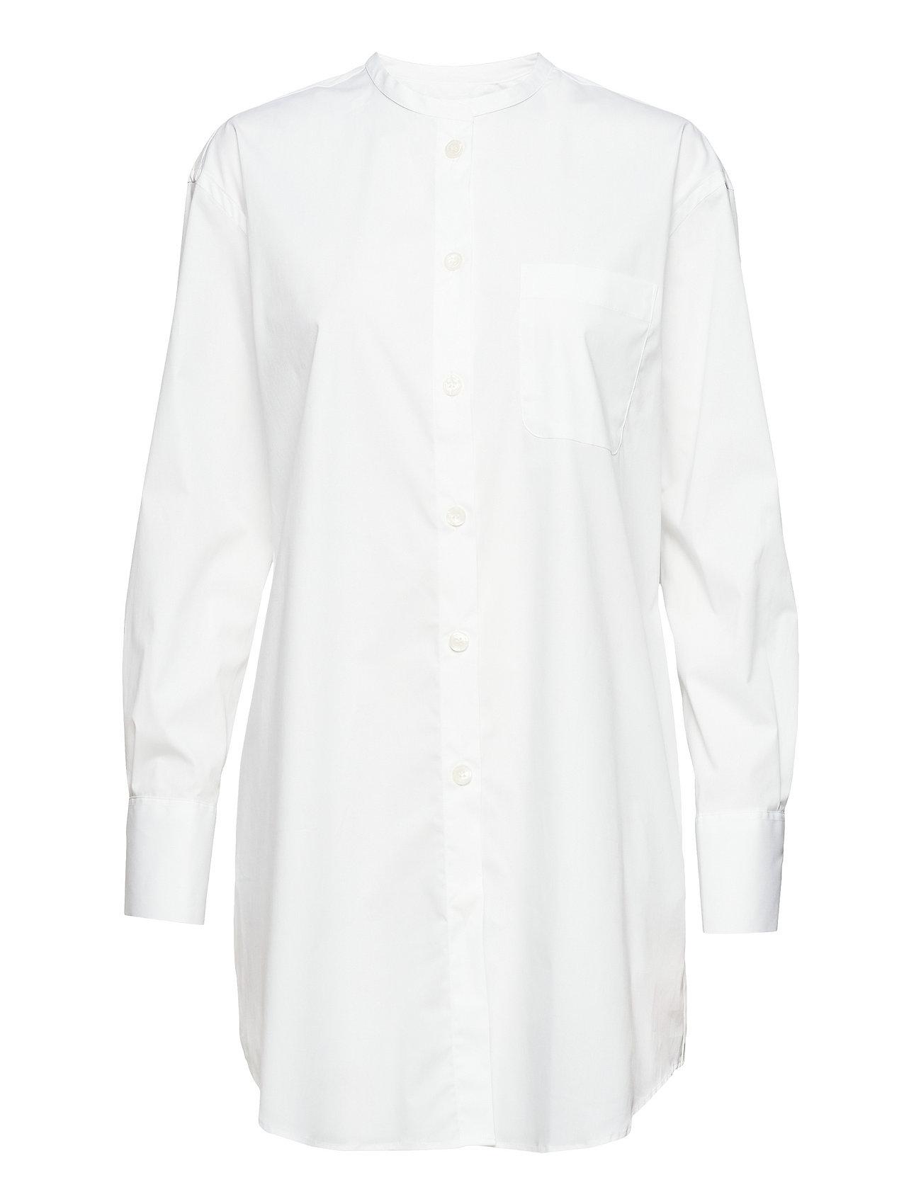 Filippa K Poplin Shirt Dress - WHITE