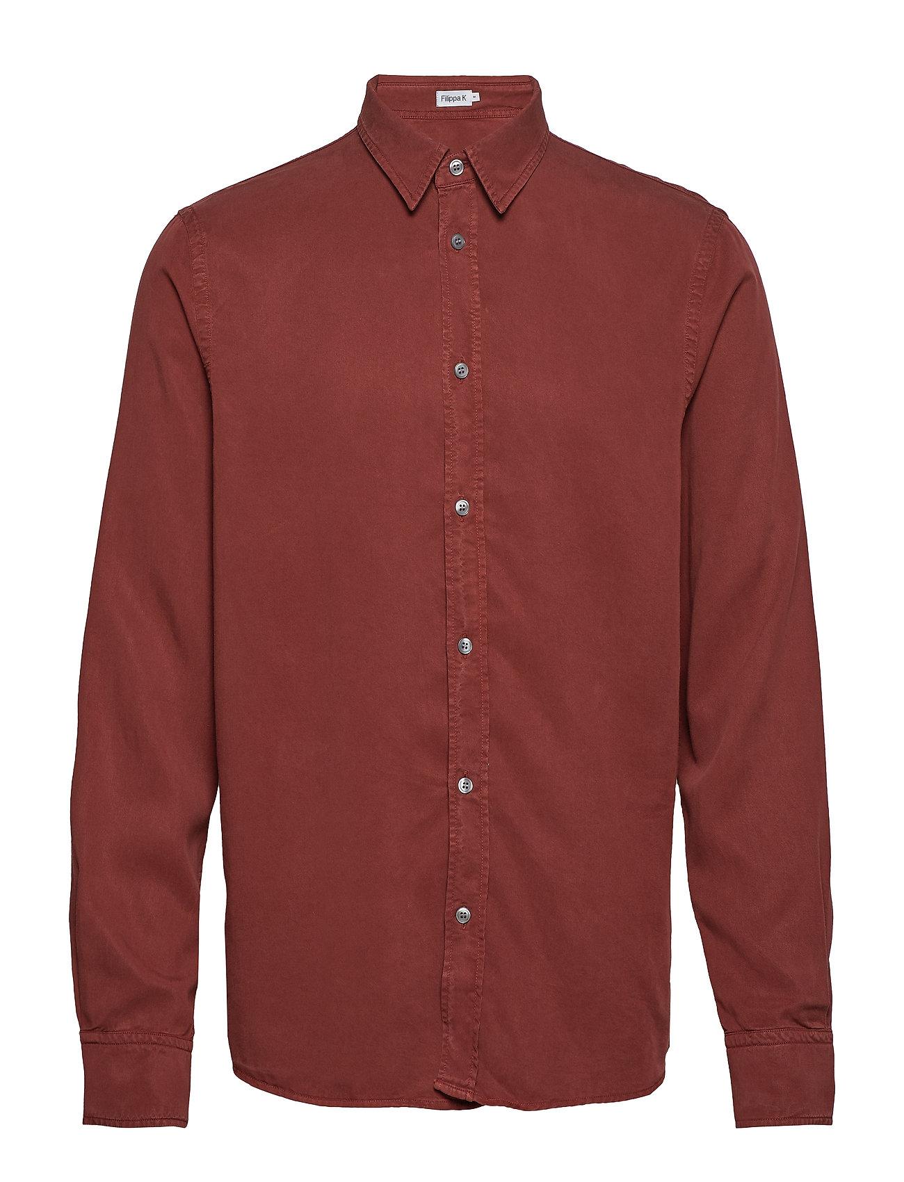 Filippa K M. Ben Tencel Shirt - PINOT