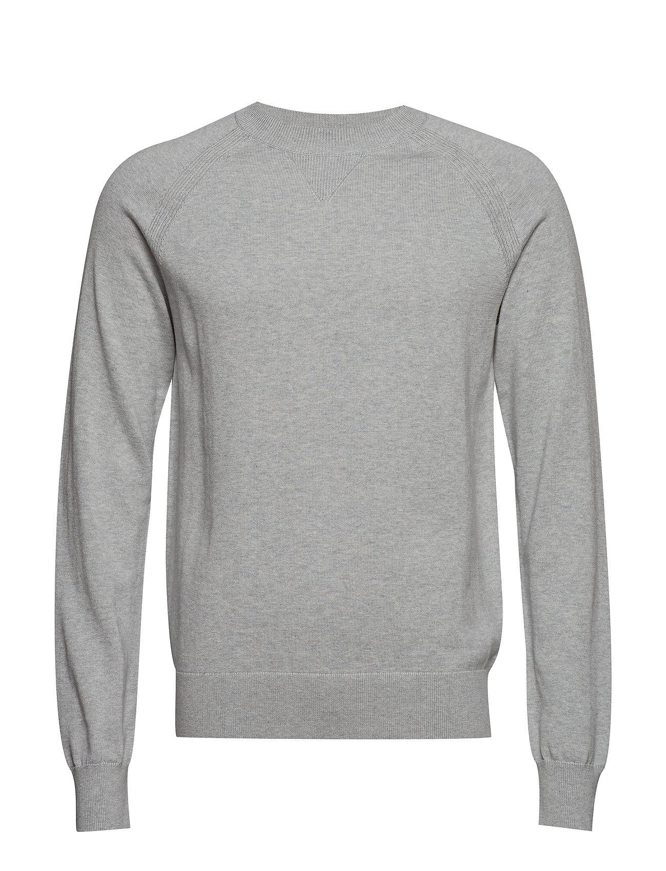 Filippa K M. Cotton Cashmere Knitted Swe - LIGHT GREY