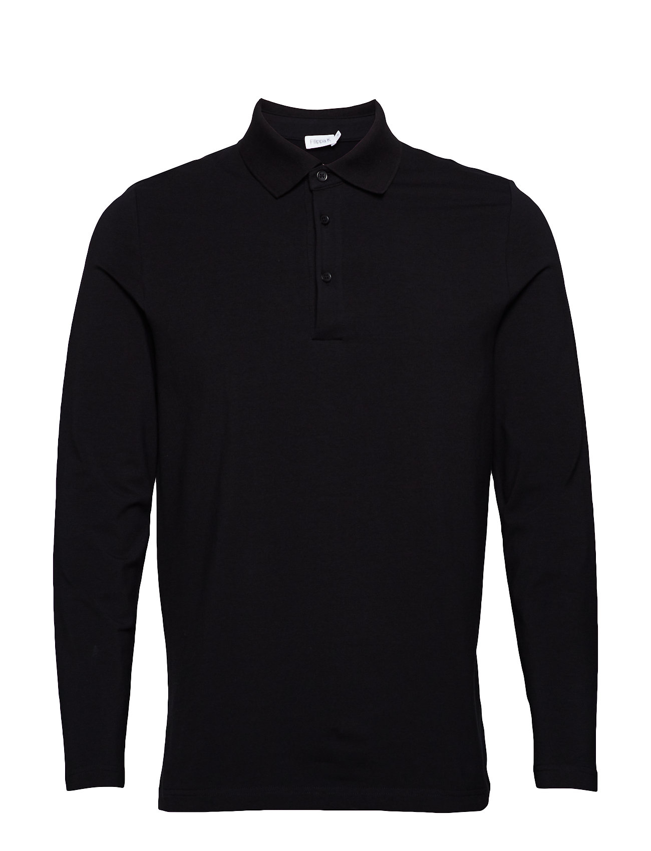 Filippa K M. Luke Lycra Polo Shirt - BLACK