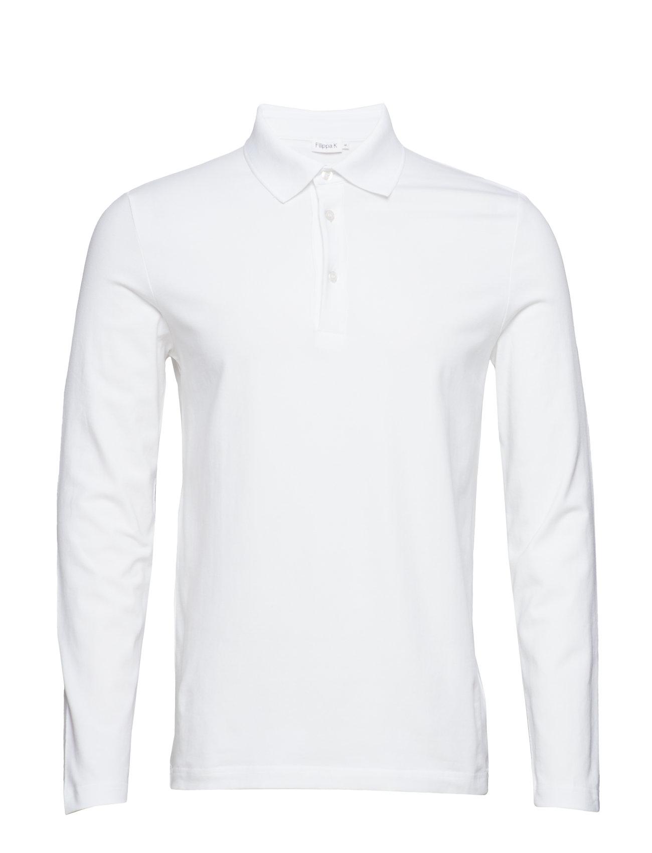 Filippa K M. Luke Lycra Polo Shirt - WHITE