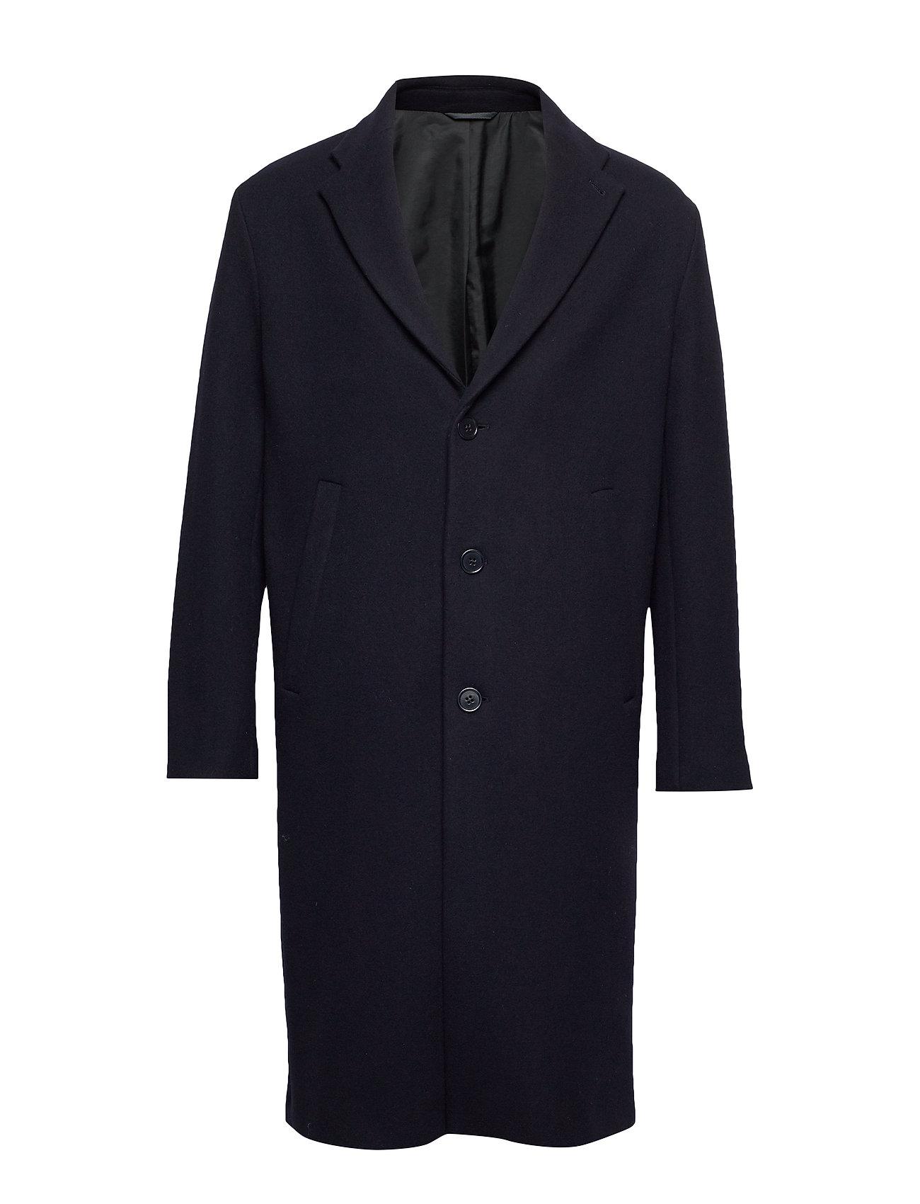 Filippa K M. Lyon Wool Coat - DK. NAVY