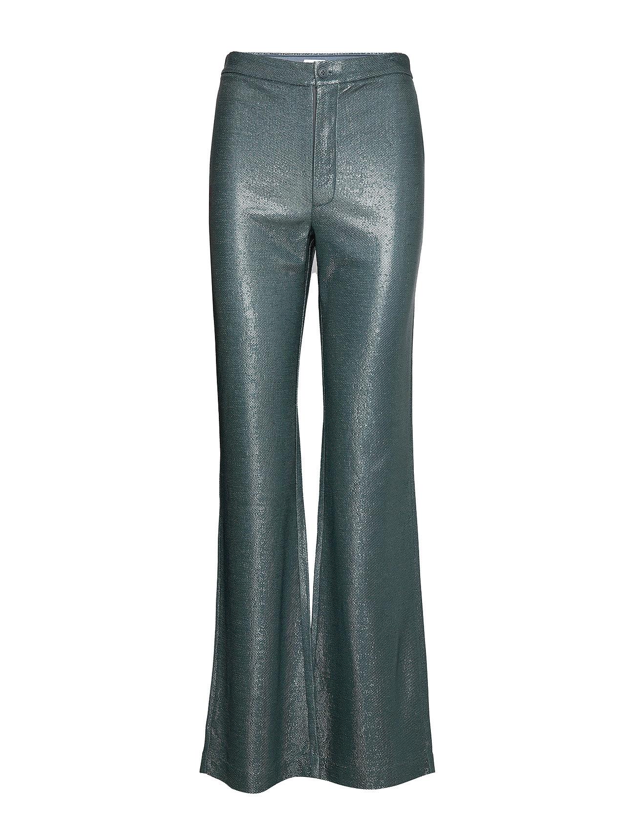 Image of Nyx Lurex Trouser Bukser Med Svaj Blå Filippa K (3347377727)