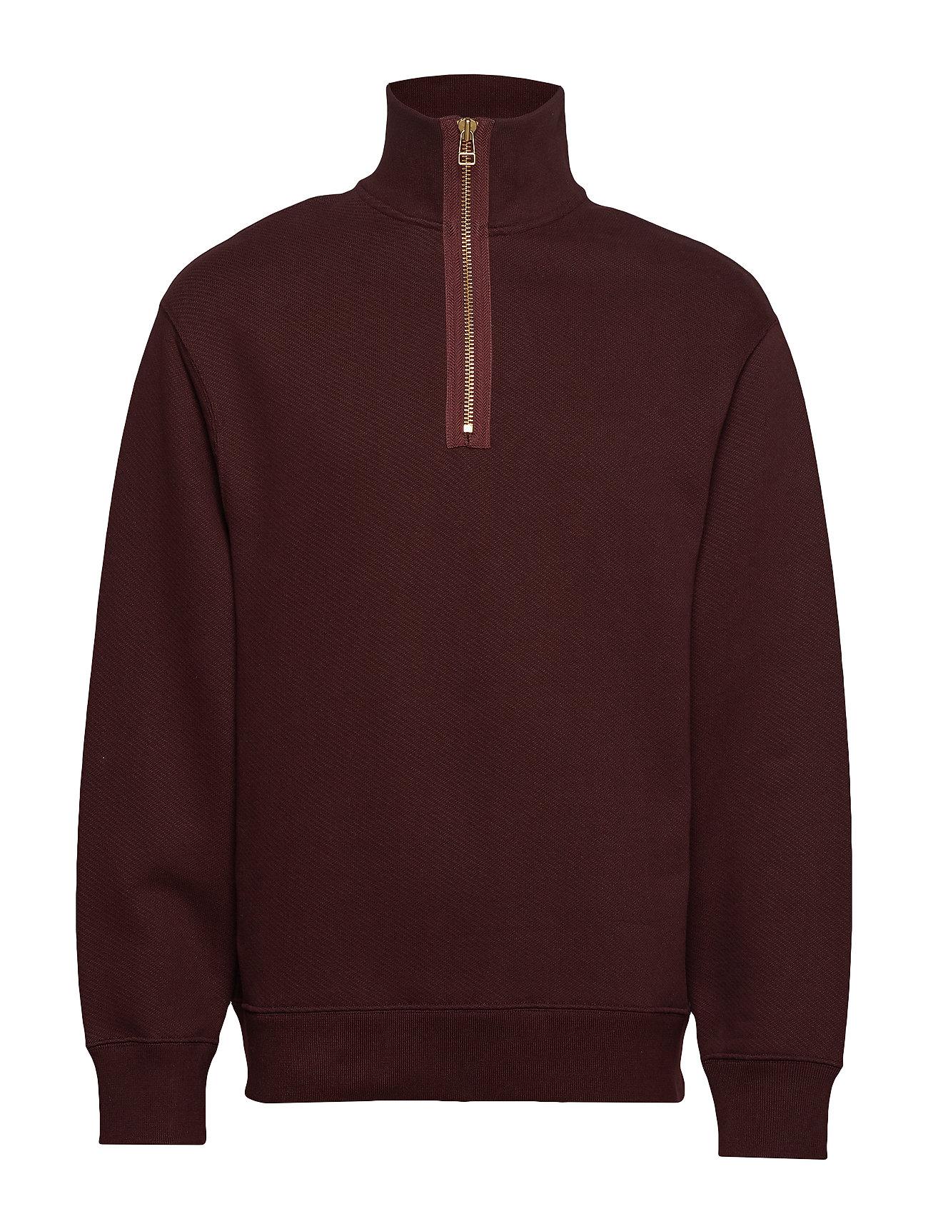 Filippa K M. Miles Zip Sweatshirt - DEEP SHIRA