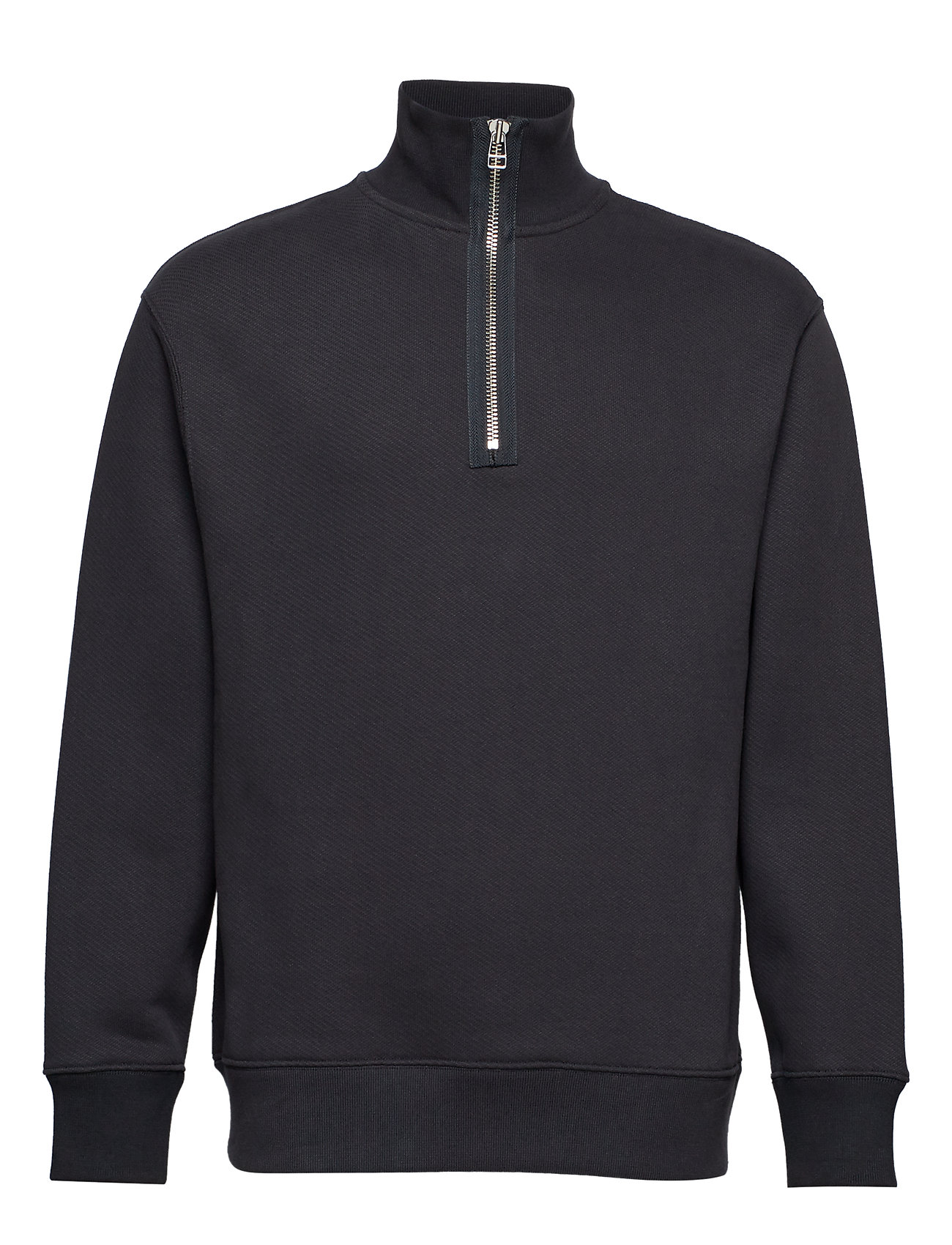 Filippa K M. Miles Zip Sweatshirt - INK GREY