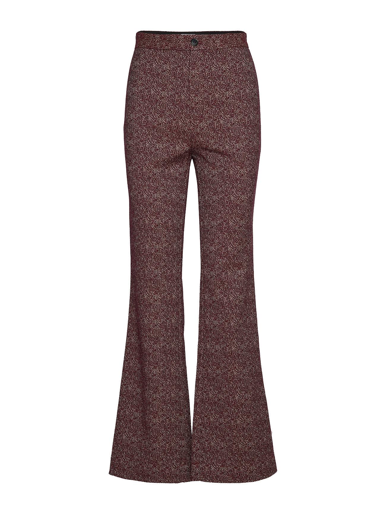 Image of Nyx Melange Trouser Bukser Med Svaj Lilla Filippa K (3406312663)