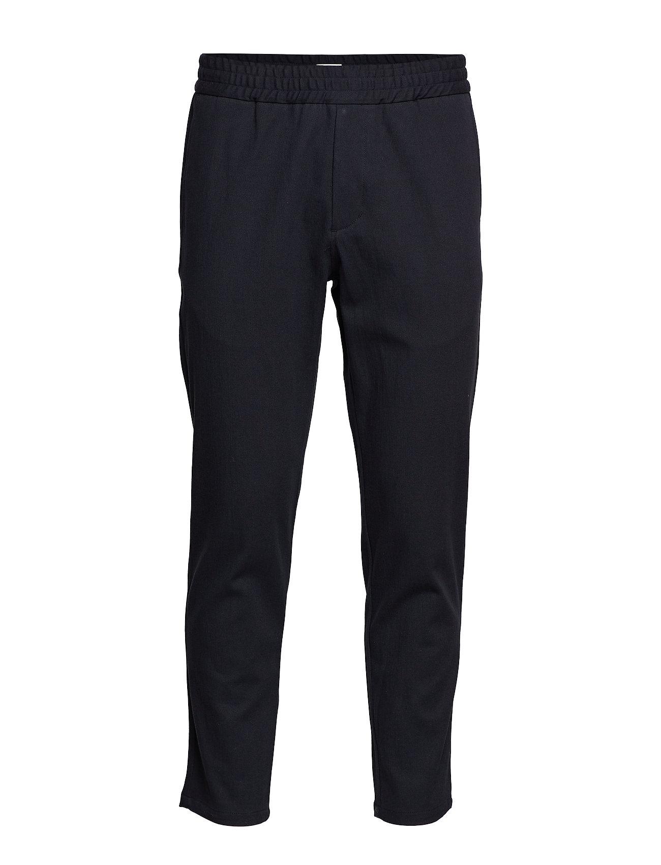 Filippa K M. Terry Cotton Trouser - DK. NAVY