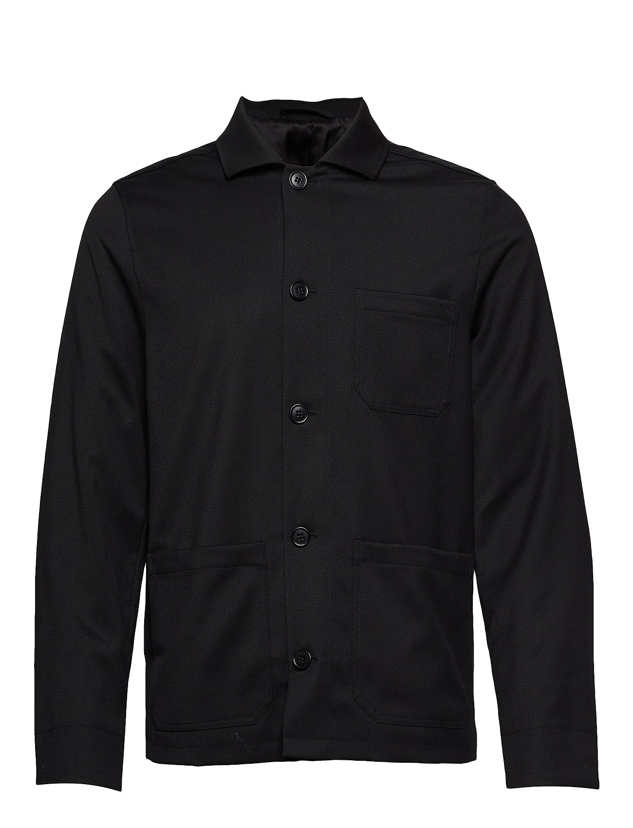 Filippa K M. Louis Gabardine Jacket - BLACK