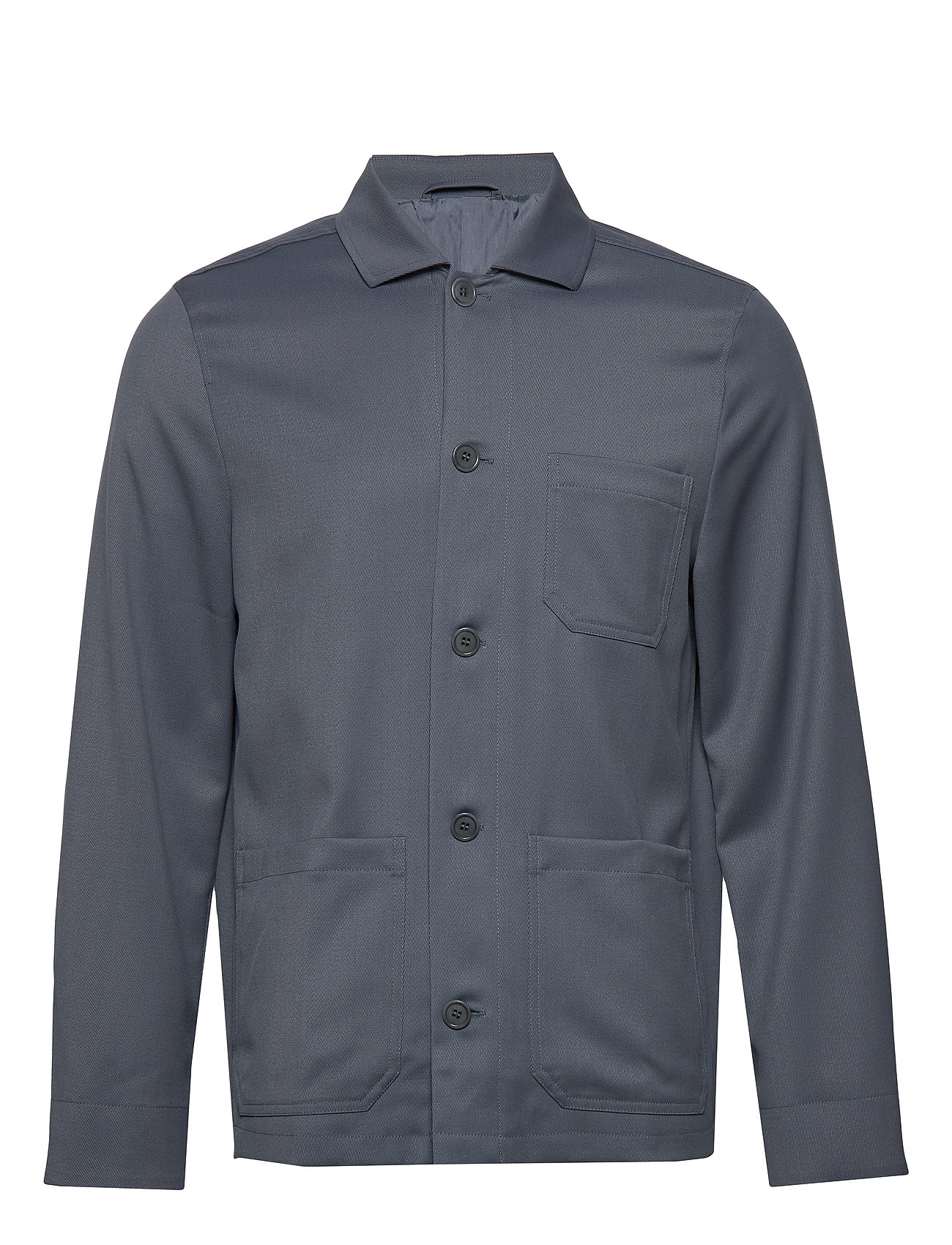 Filippa K M. Louis Gabardine Jacket - BLUE GREY