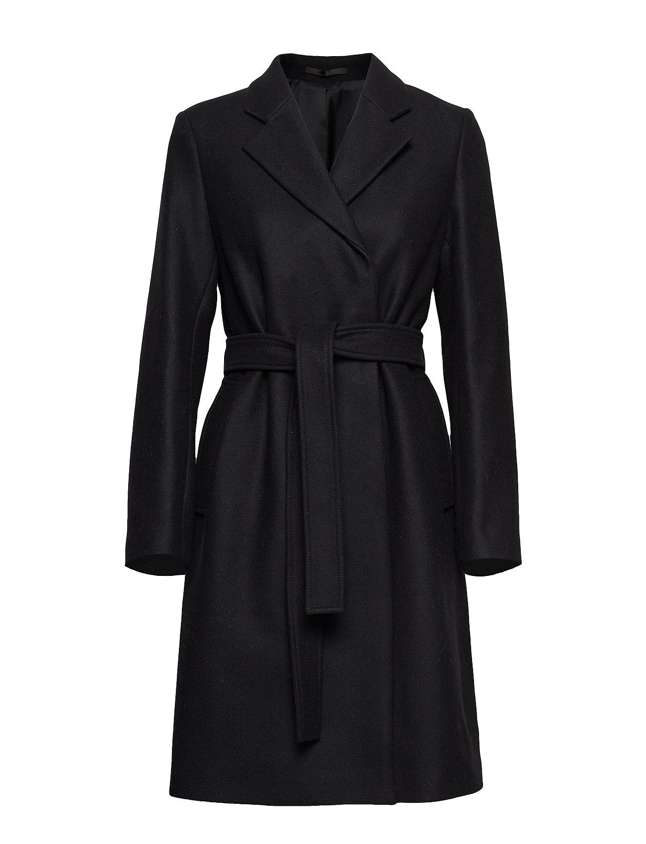 Filippa K Eden Coat - BLACK