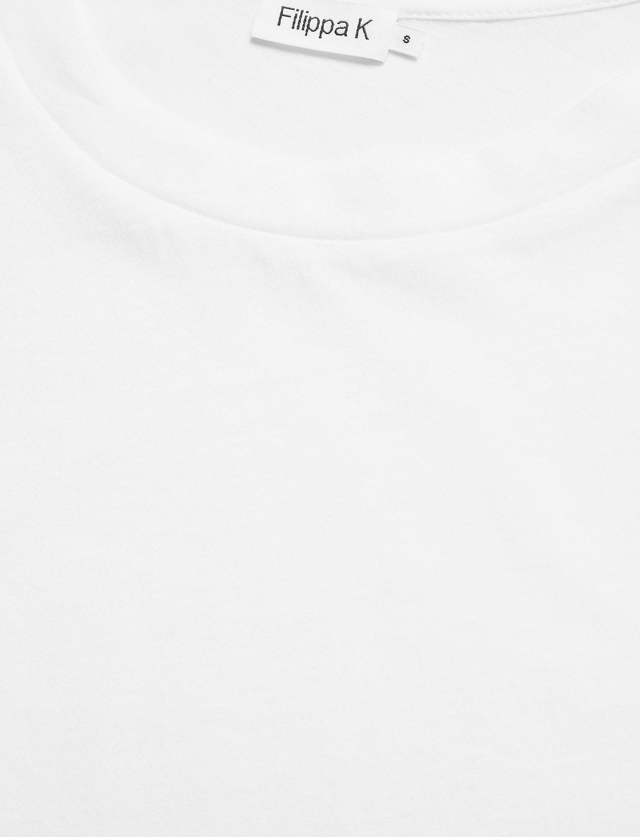 Filippa K - Cotton Tee - t-shirts - white - 2