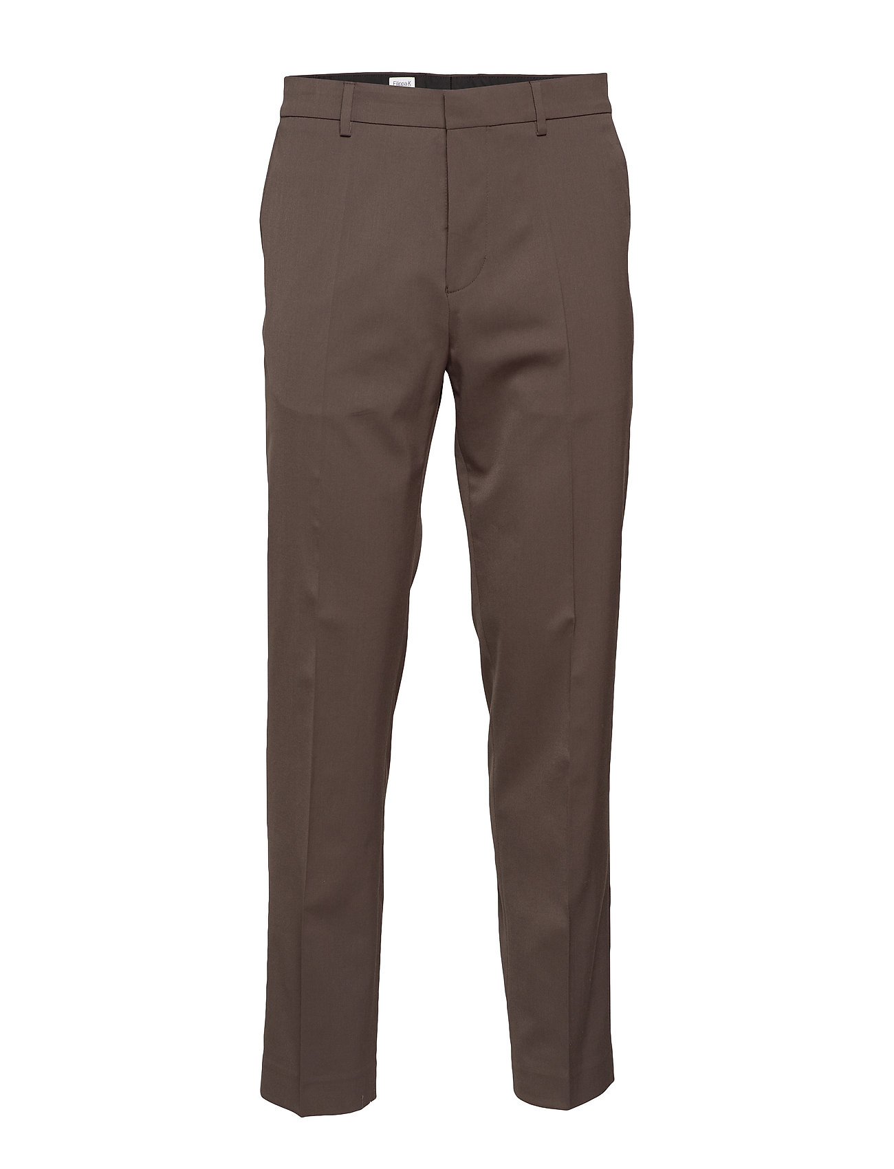 Filippa K M. Justin Wool Trouser - DARK OAK