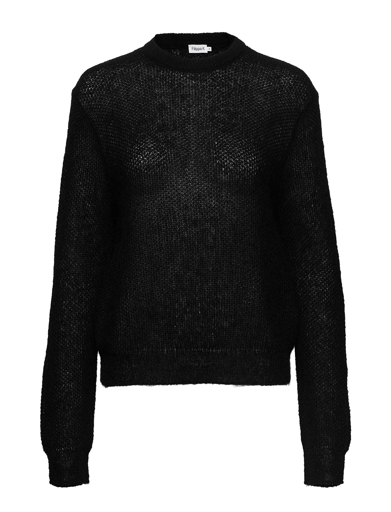 Filippa K Heather Sweater - BLACK