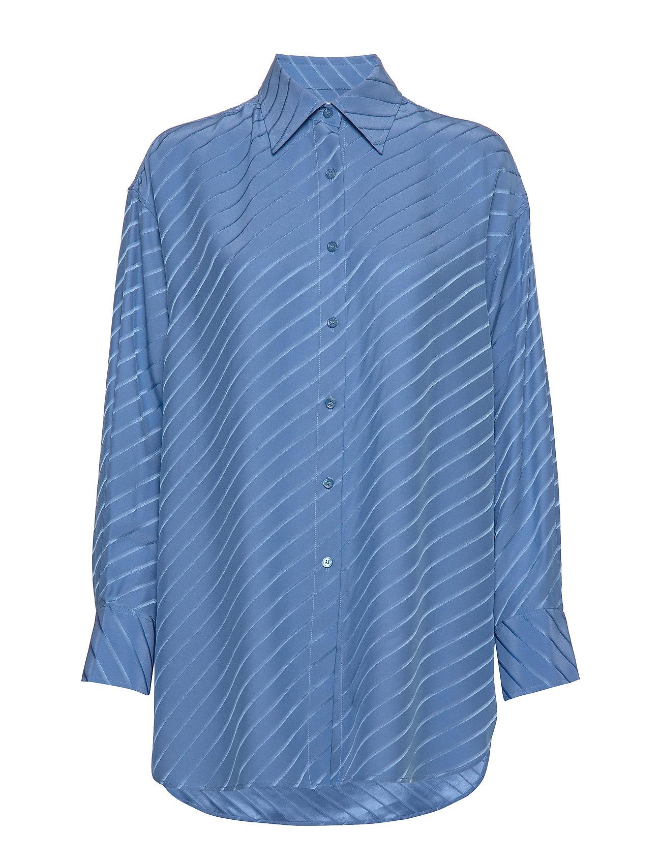 Filippa K Nina Silk Shirt - SAPPHIRE B