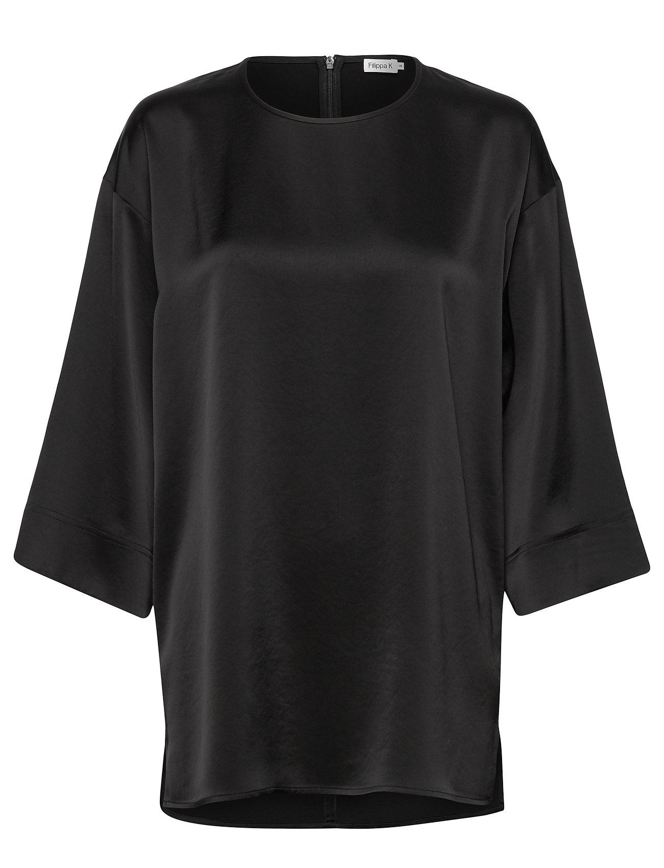 Filippa K Lydia Top - BLACK