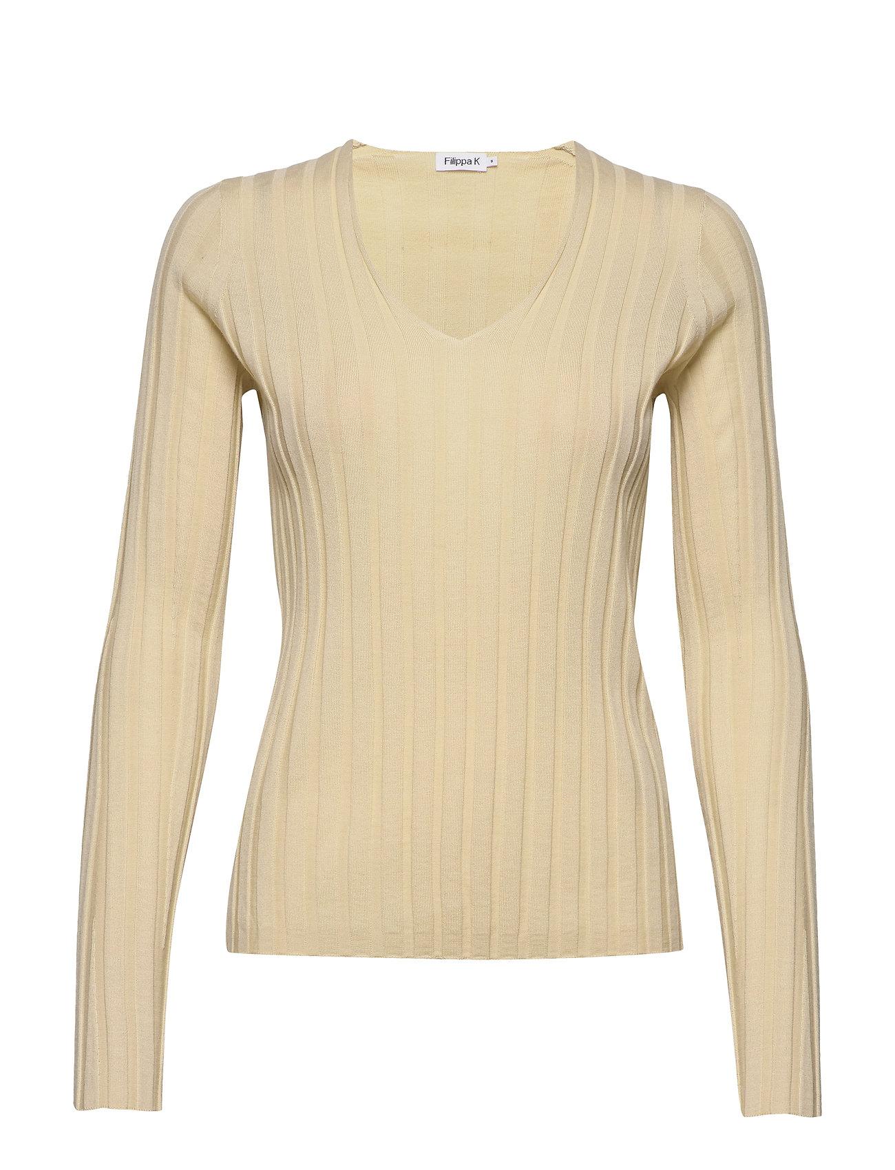 Filippa K Wendy Sweater - FADED YELL