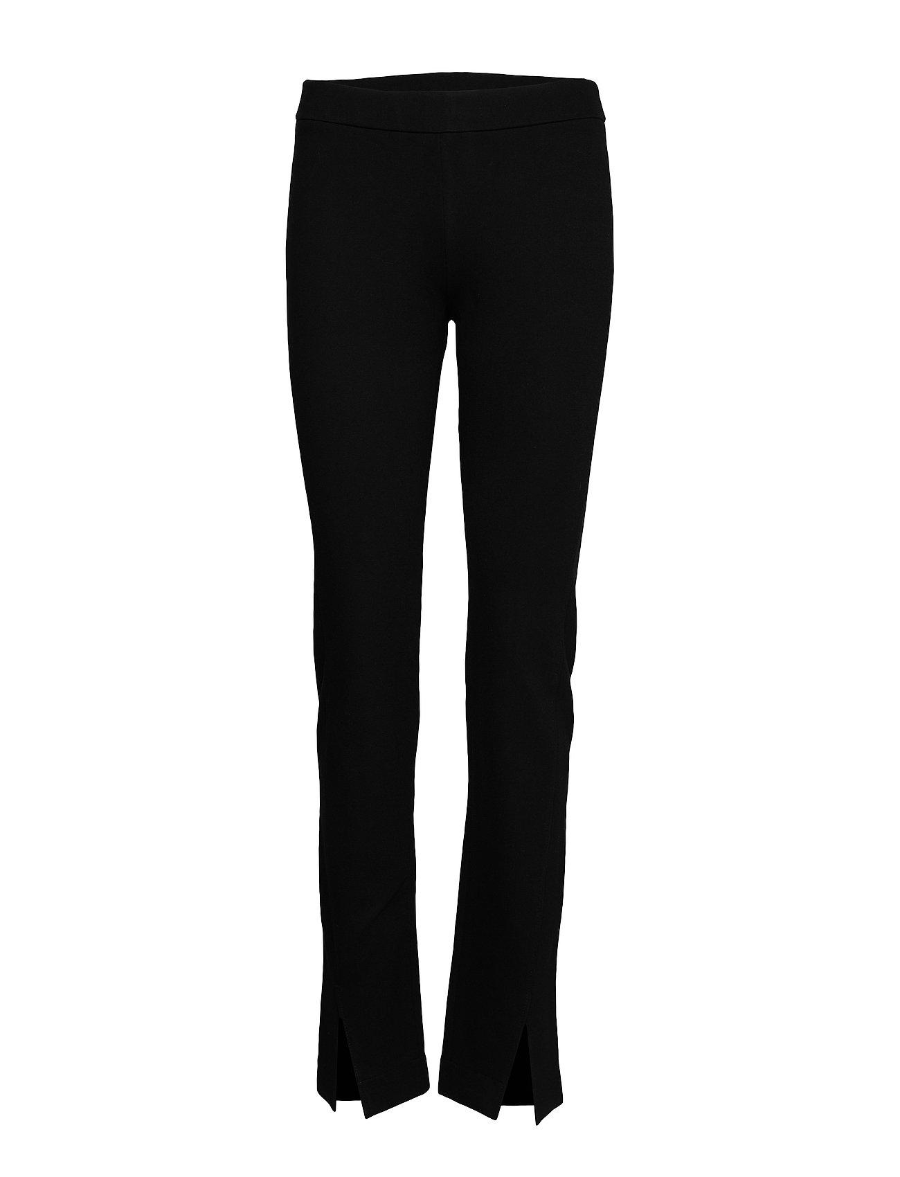 Image of Adrienne Trouser Bukser Med Lige Ben Sort Filippa K (3305996623)