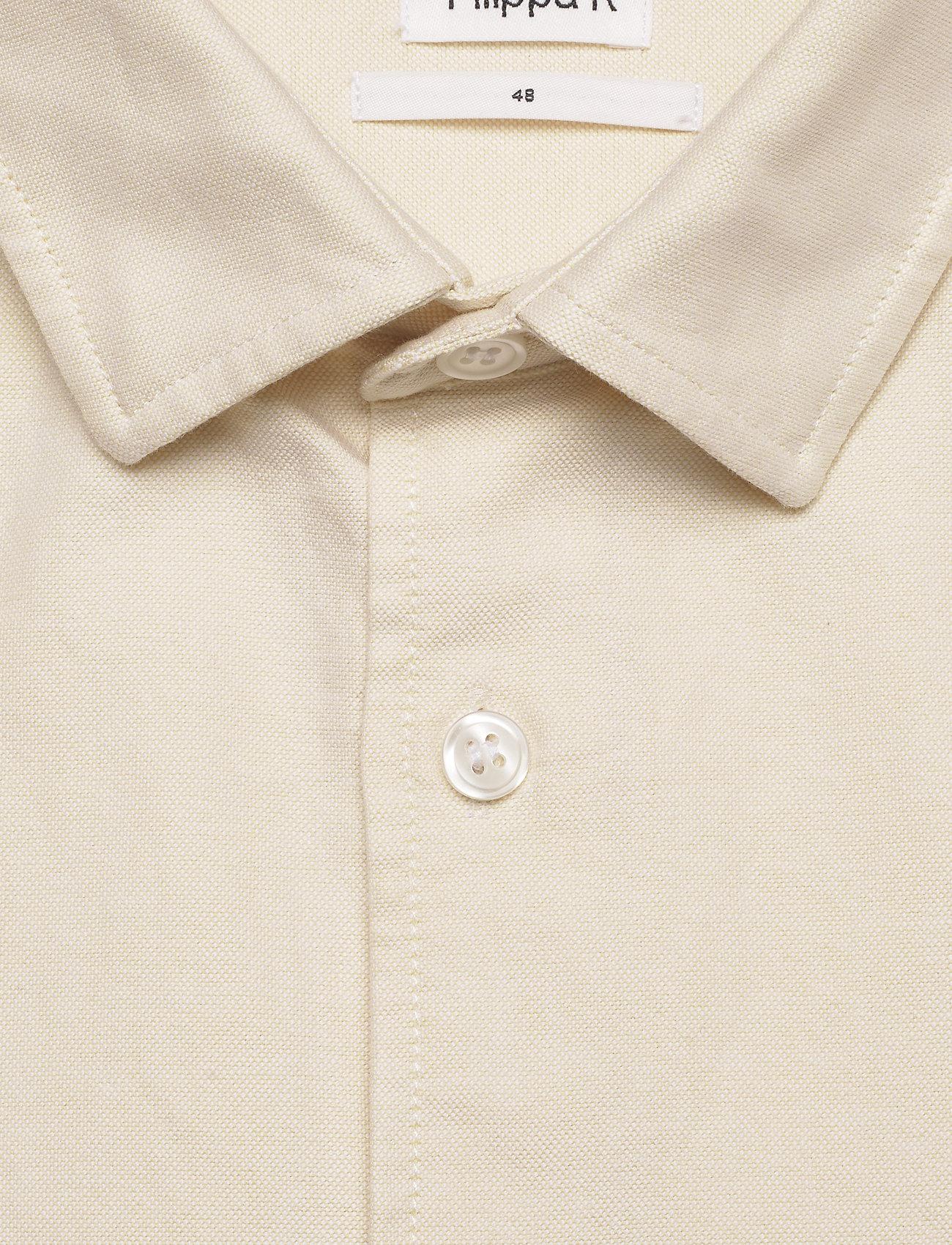 Filippa K - M. Tim Oxford Shirt - basic overhemden - faded yell - 1