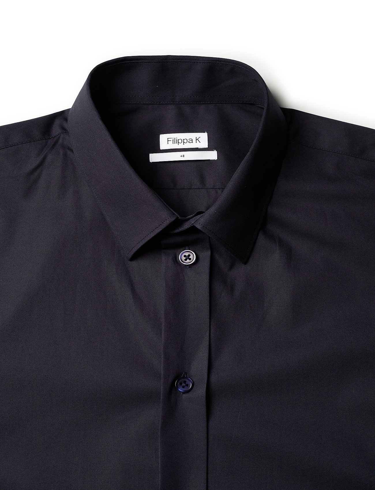 Filippa K - M. Paul Stretch Shirt - oxford overhemden - navy - 2