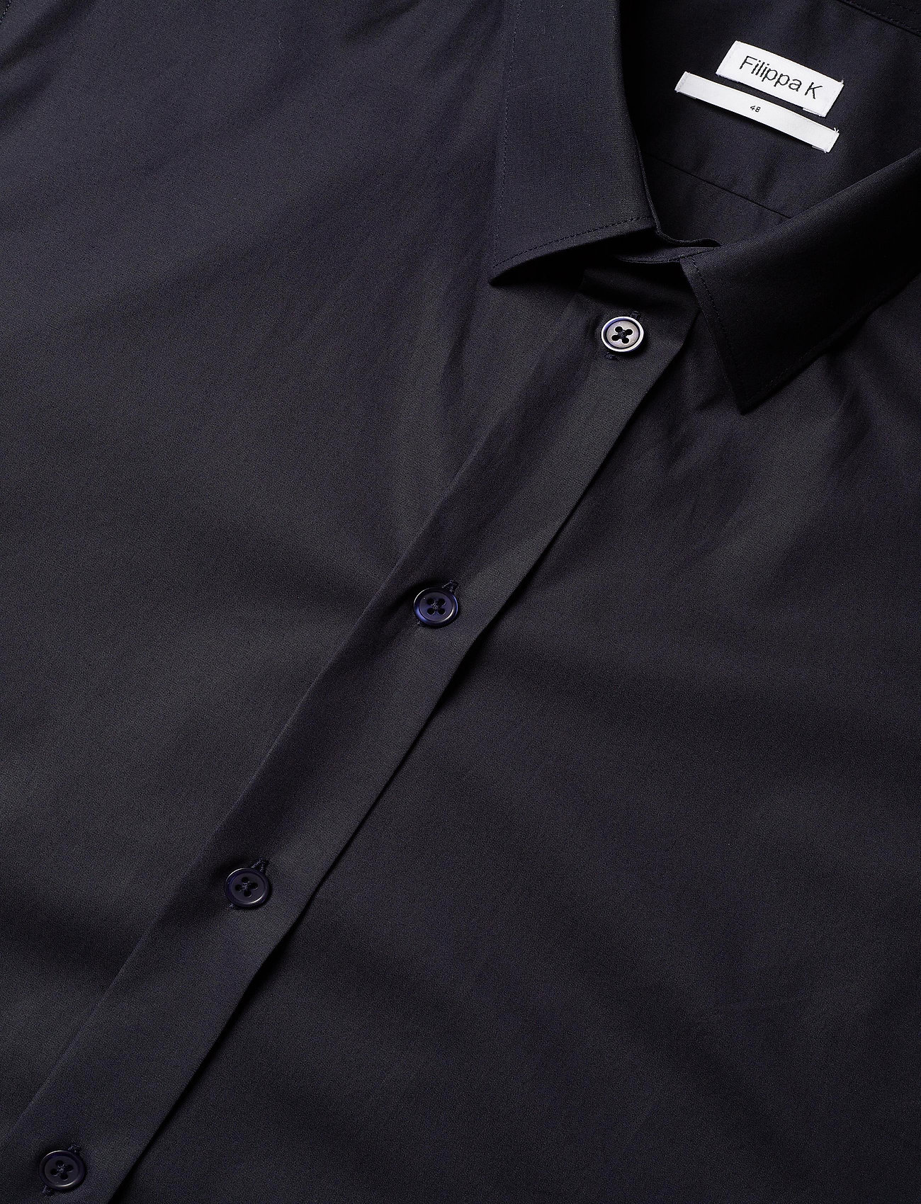 Filippa K - M. Paul Stretch Shirt - oxford overhemden - navy - 3