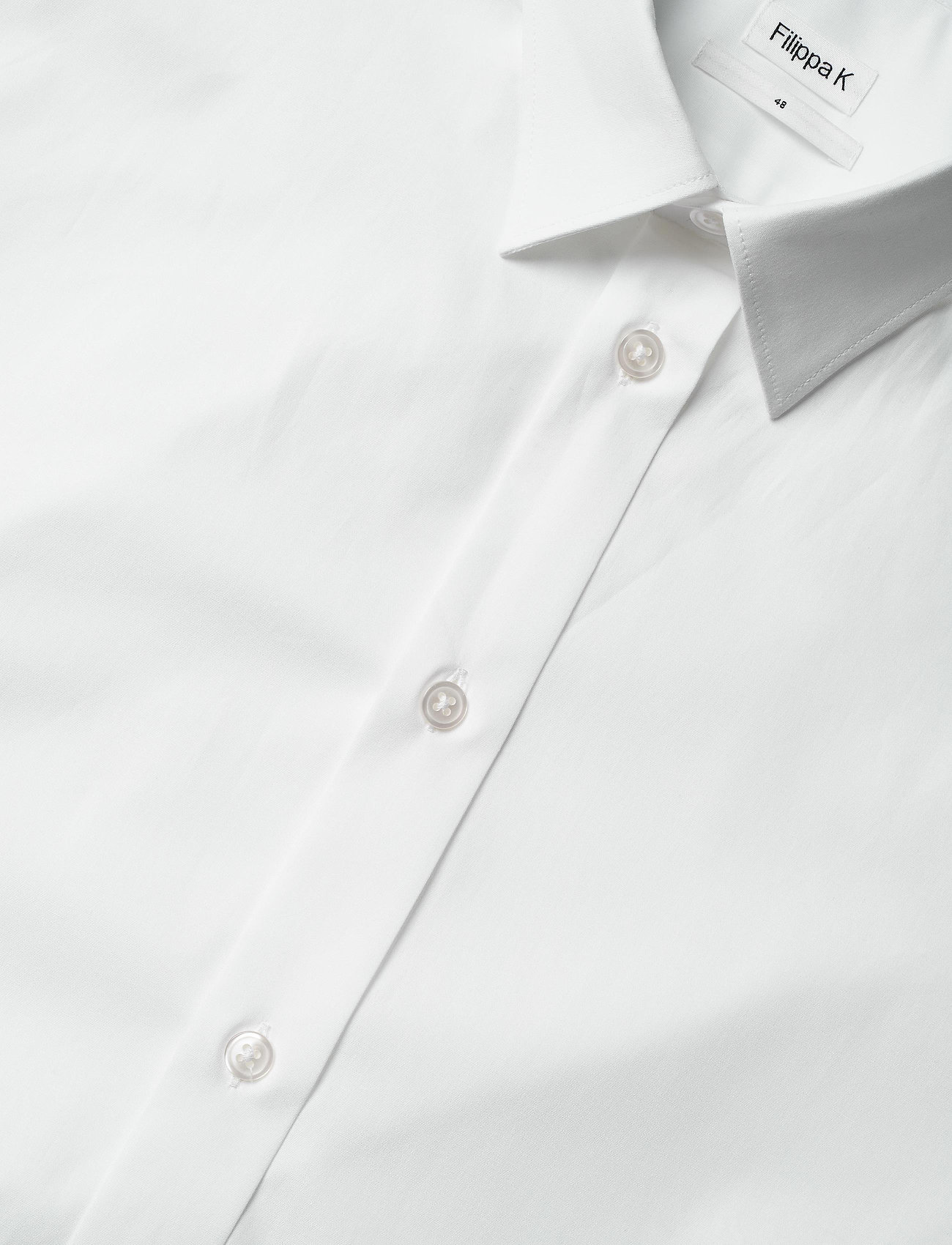 Filippa K M. Paul Stretch Shirt - Skjorter WHITE - Menn Klær